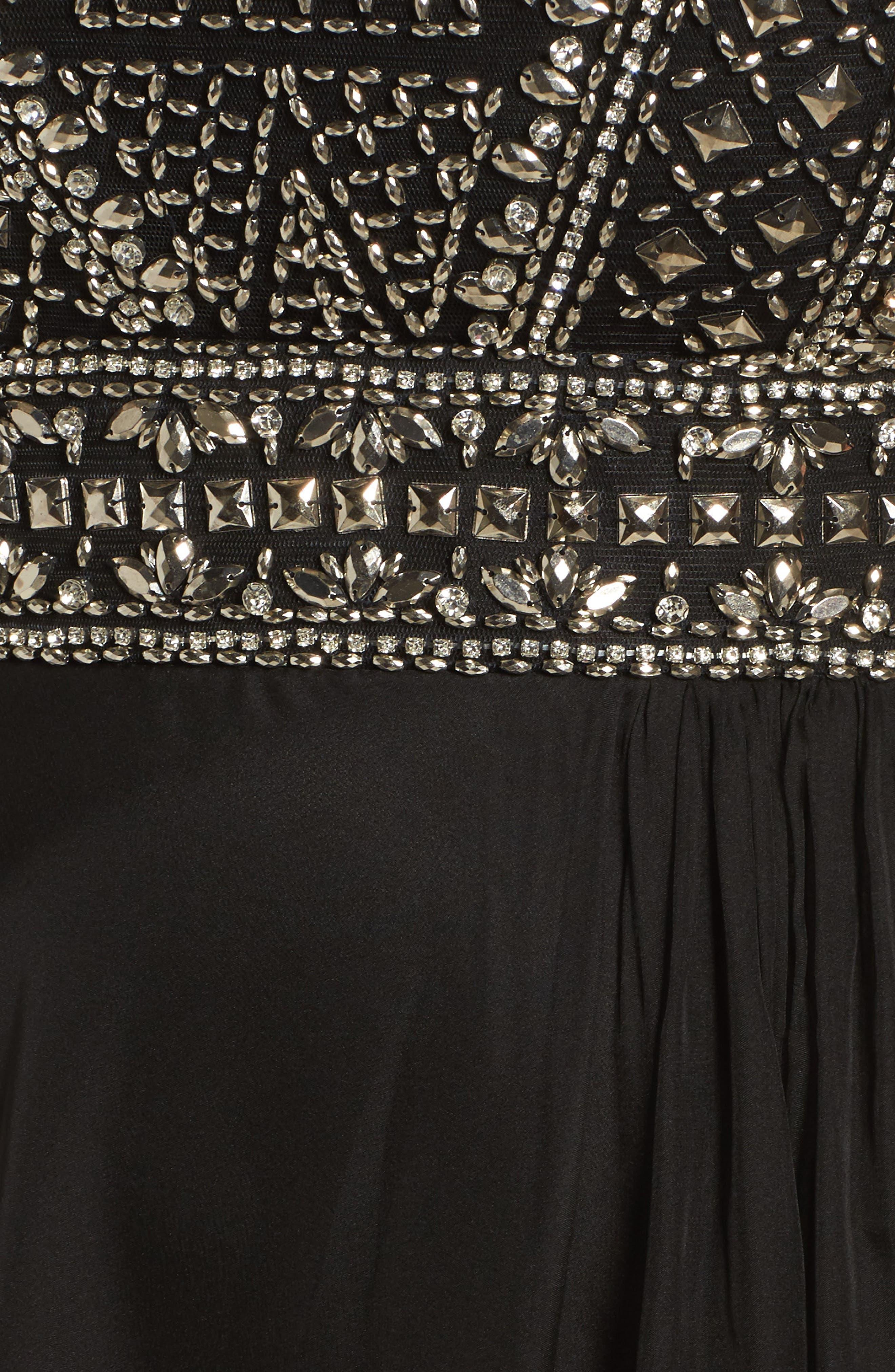 Alternate Image 5  - Mac Duggal Embellished Ballgown (Plus Size)