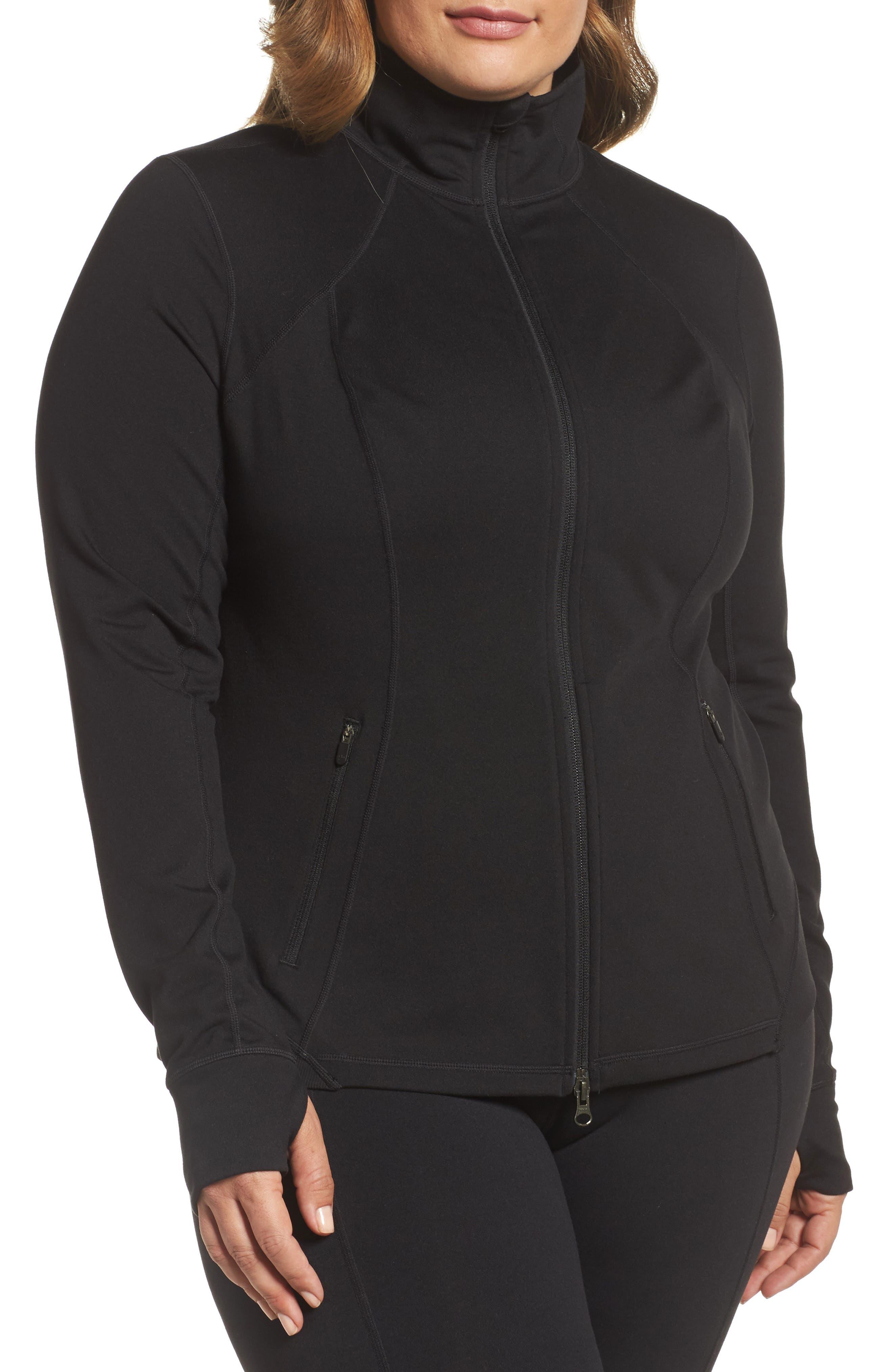 Zella Presence Jacket (Plus Size)