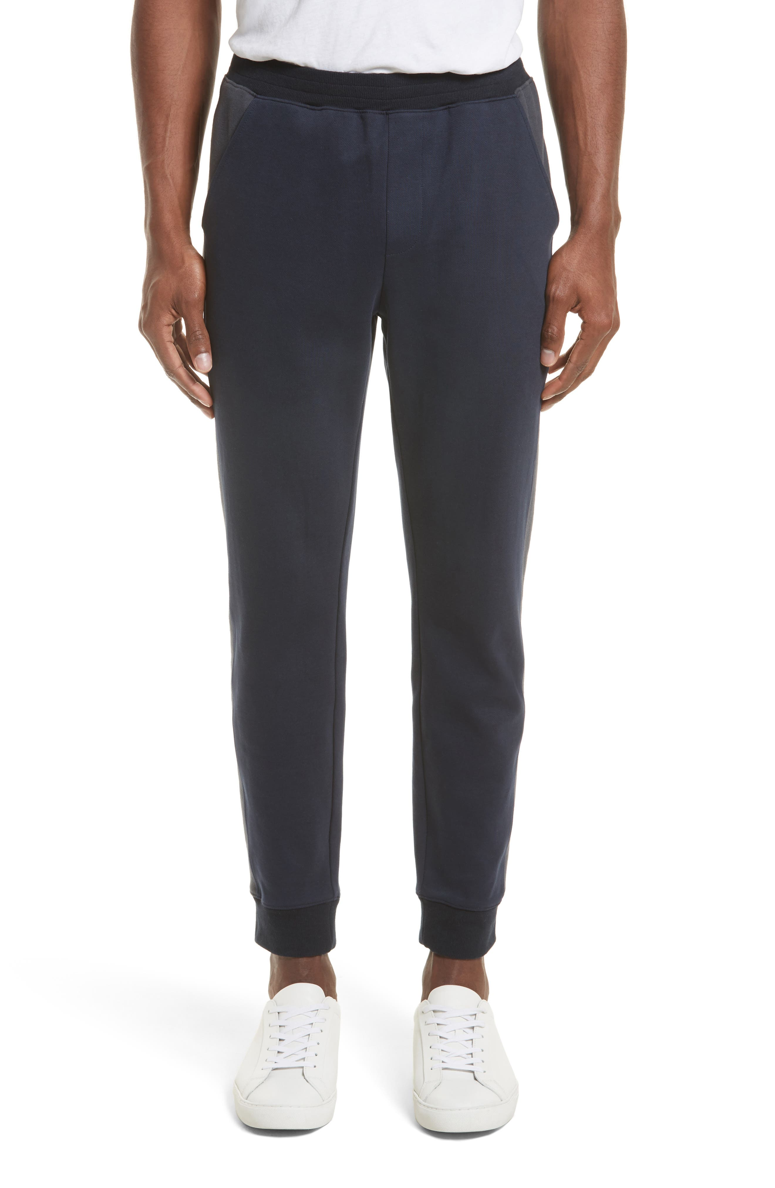Double Knit Jogger Pants,                         Main,                         color, Midnight