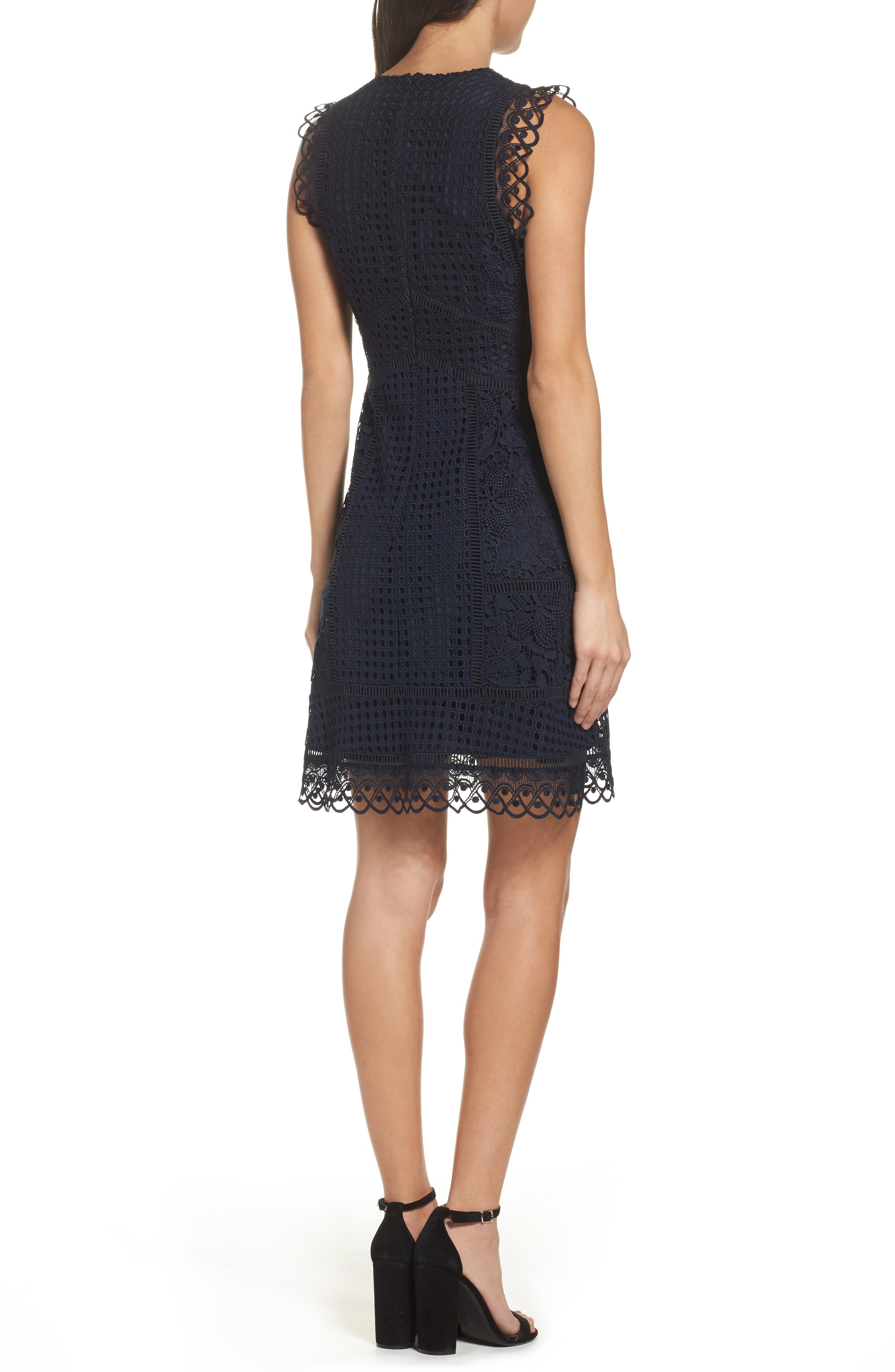 Alternate Image 2  - French Connection Zahra Fit & Flare Dress