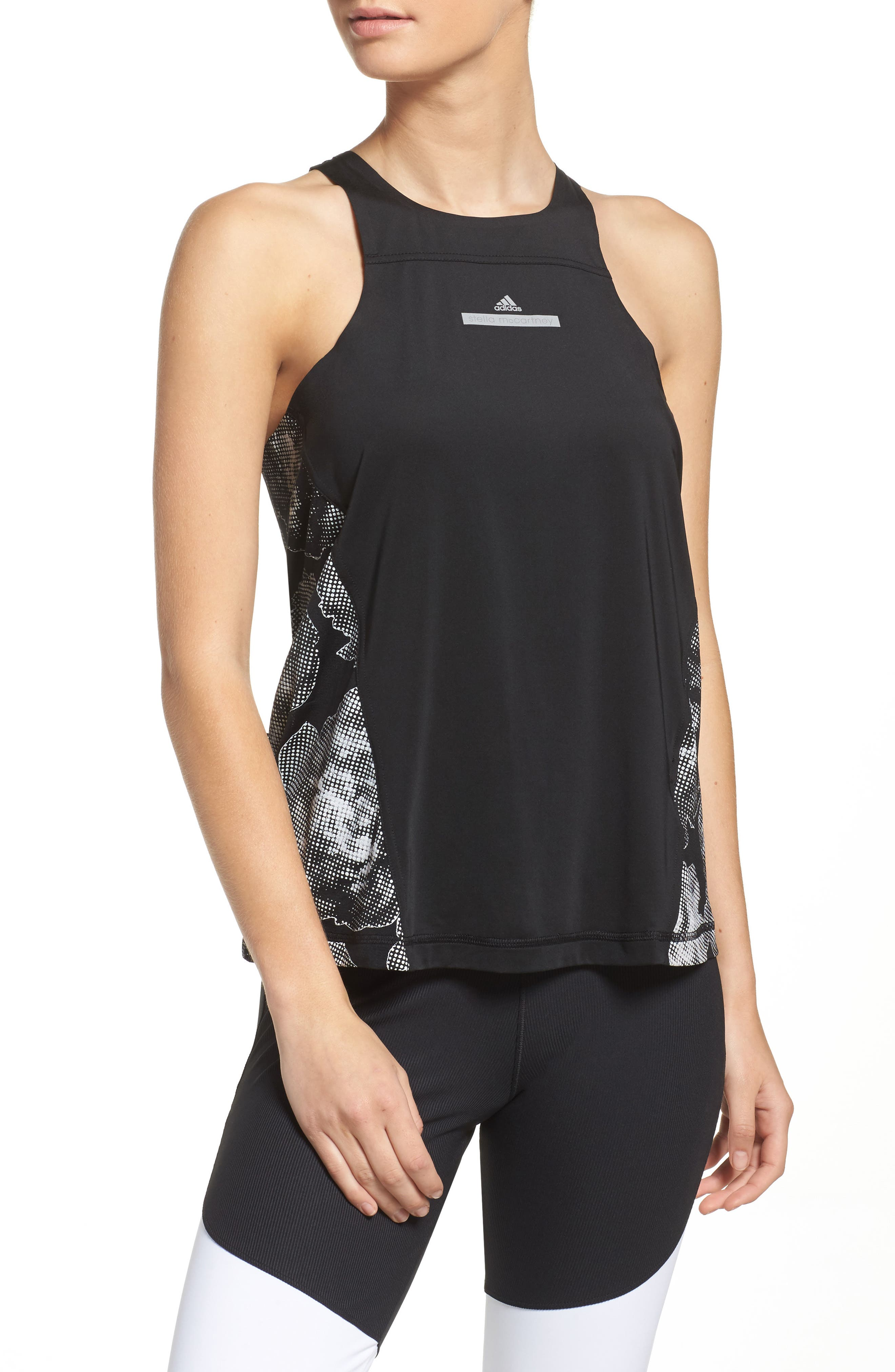 Alternate Image 1 Selected - adidas by Stella McCartney Run Adizero Tank