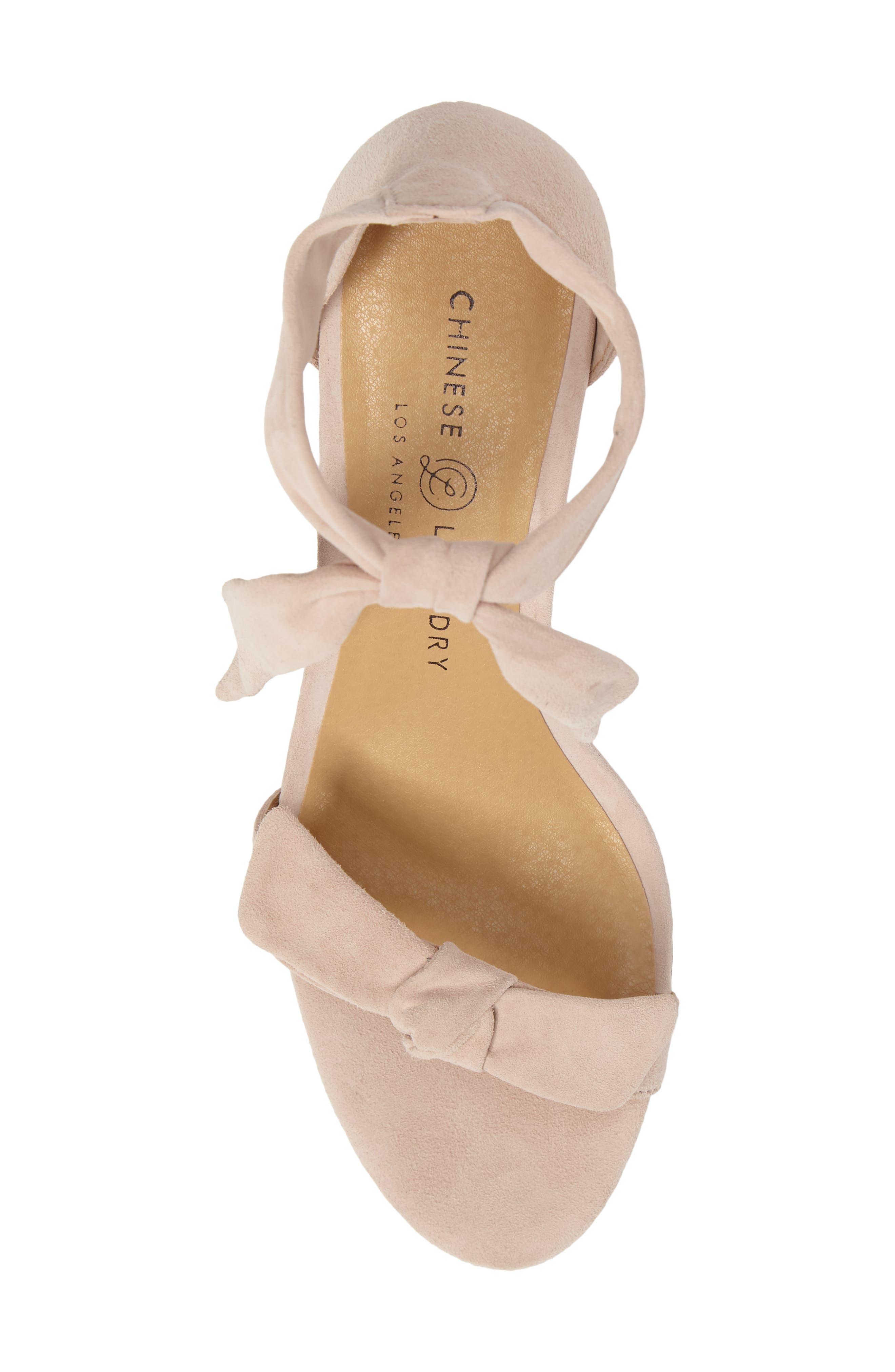 Alternate Image 5  - Chinese Laundry Rhonda Ankle Tie Sandal (Women)