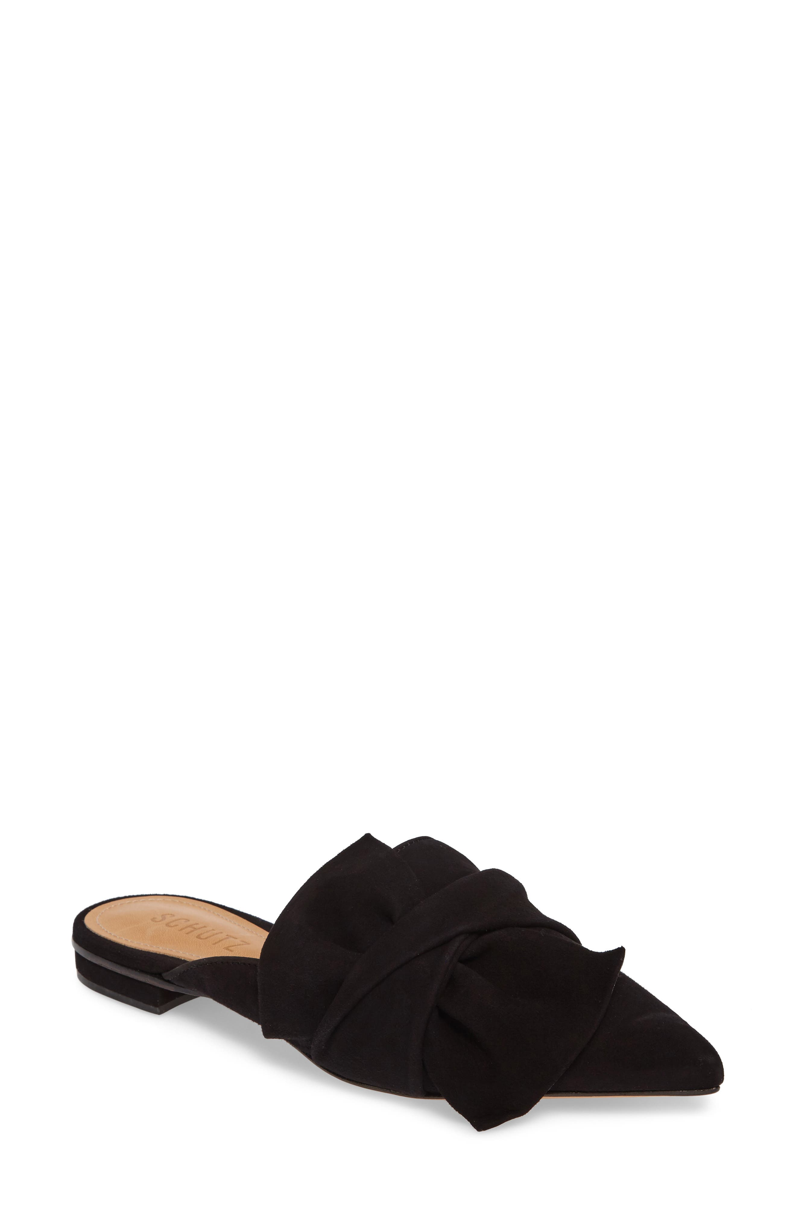 SCHUTZ DAna Knotted Loafer Mule