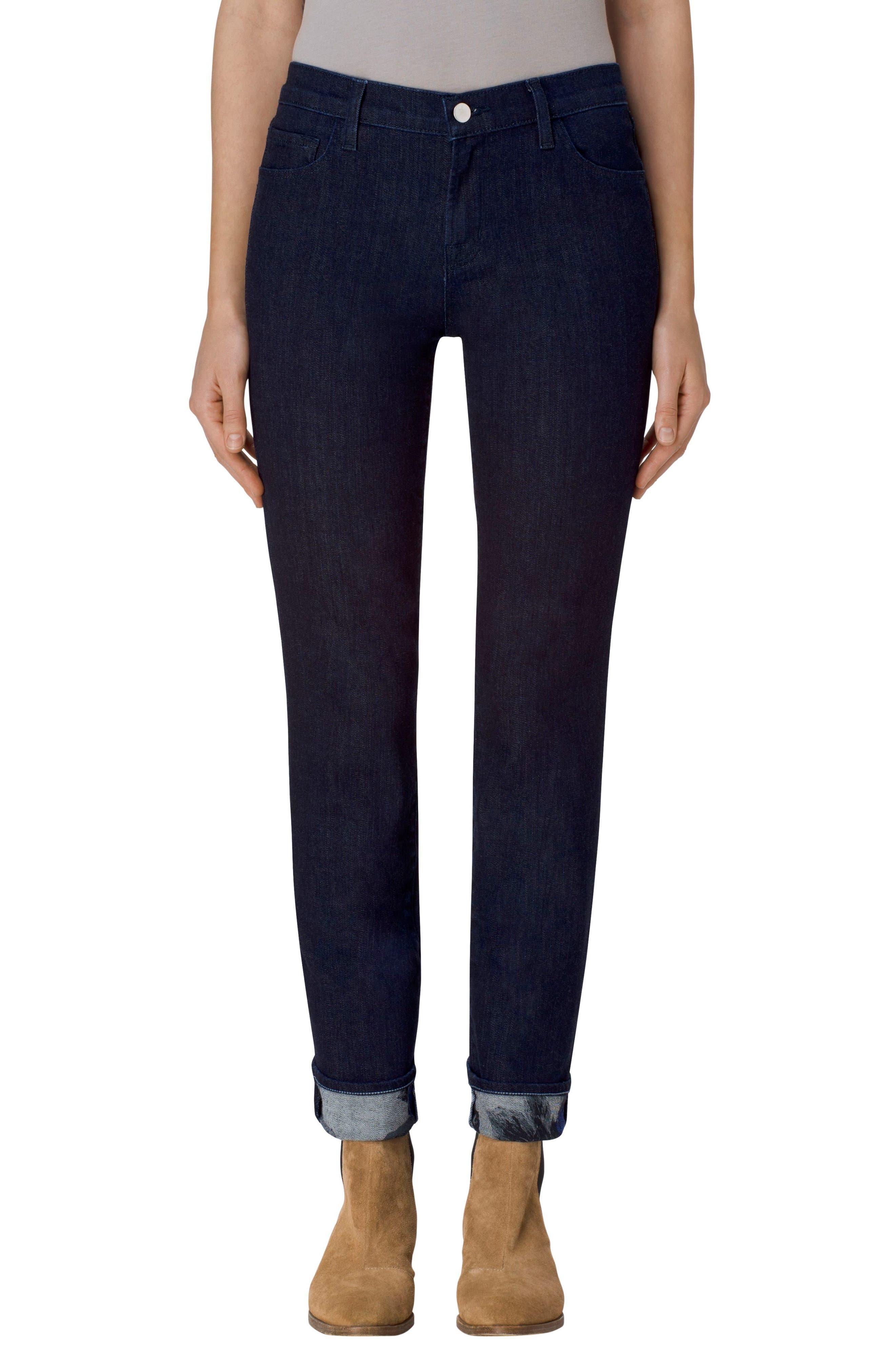Alternate Image 1 Selected - J Brand Maude Cigarette Leg Jeans (Corsage)