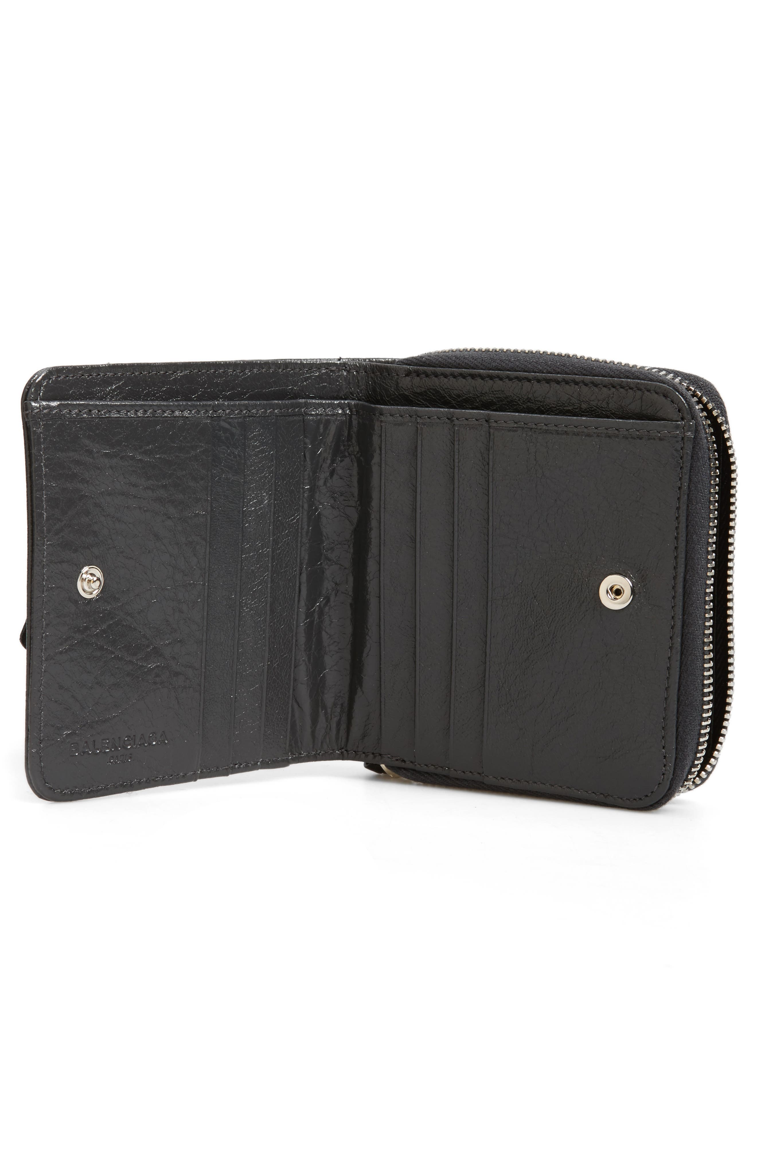 Classic Leather Billfold,                             Alternate thumbnail 2, color,                             1110 Gris Fossile