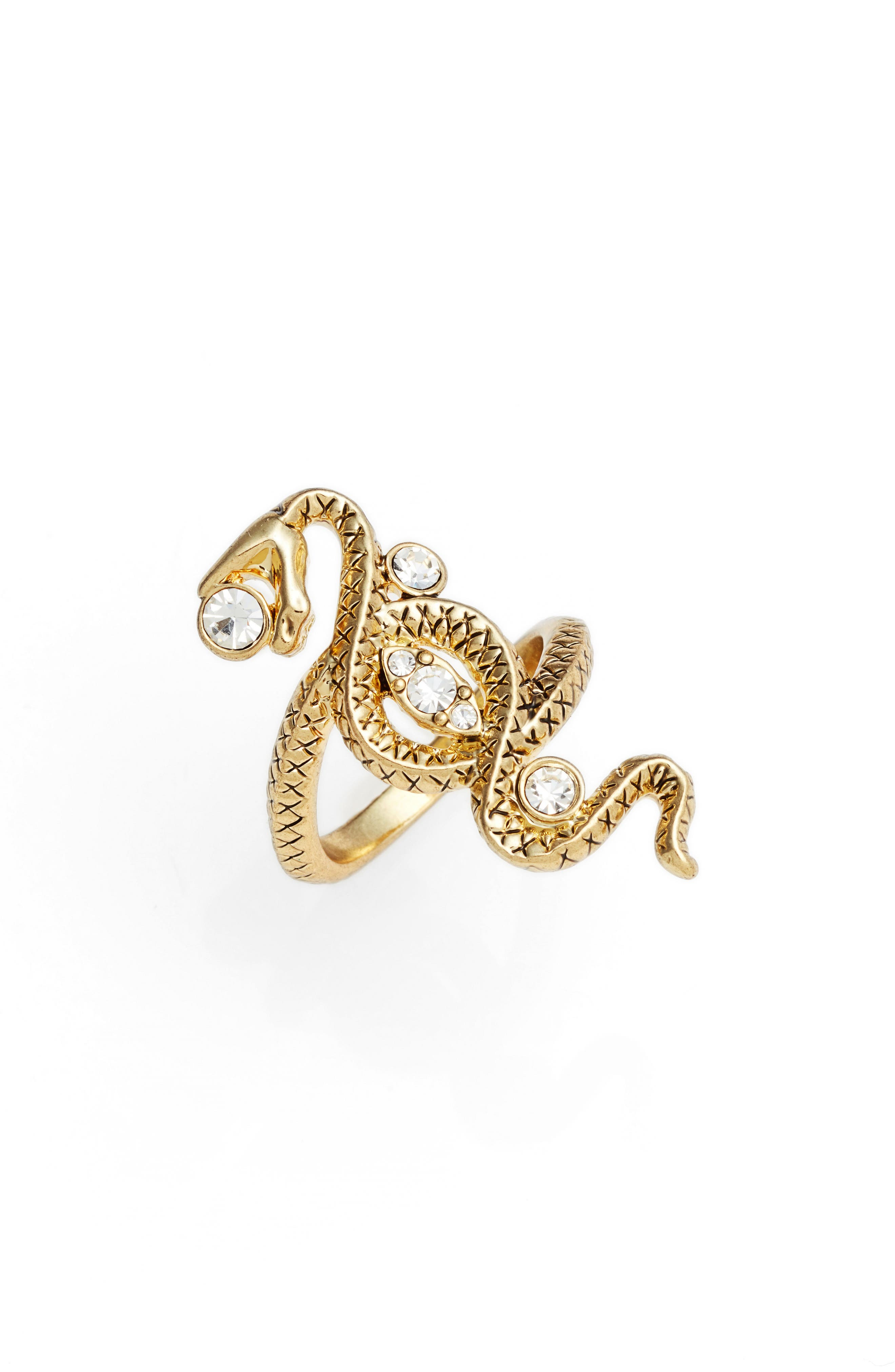 Alternate Image 1 Selected - Luv AJ Twisted Serpent Ring