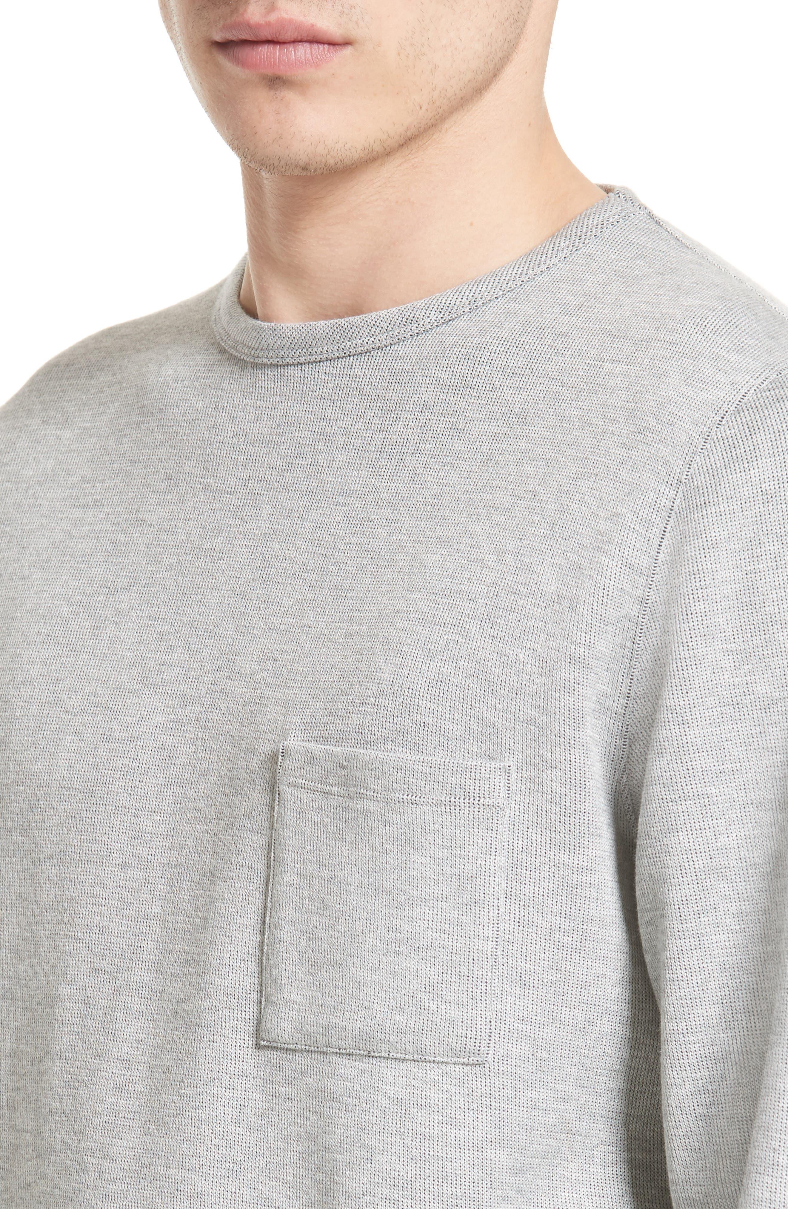 Alternate Image 4  - Saturdays NYC James Pocket Sweater