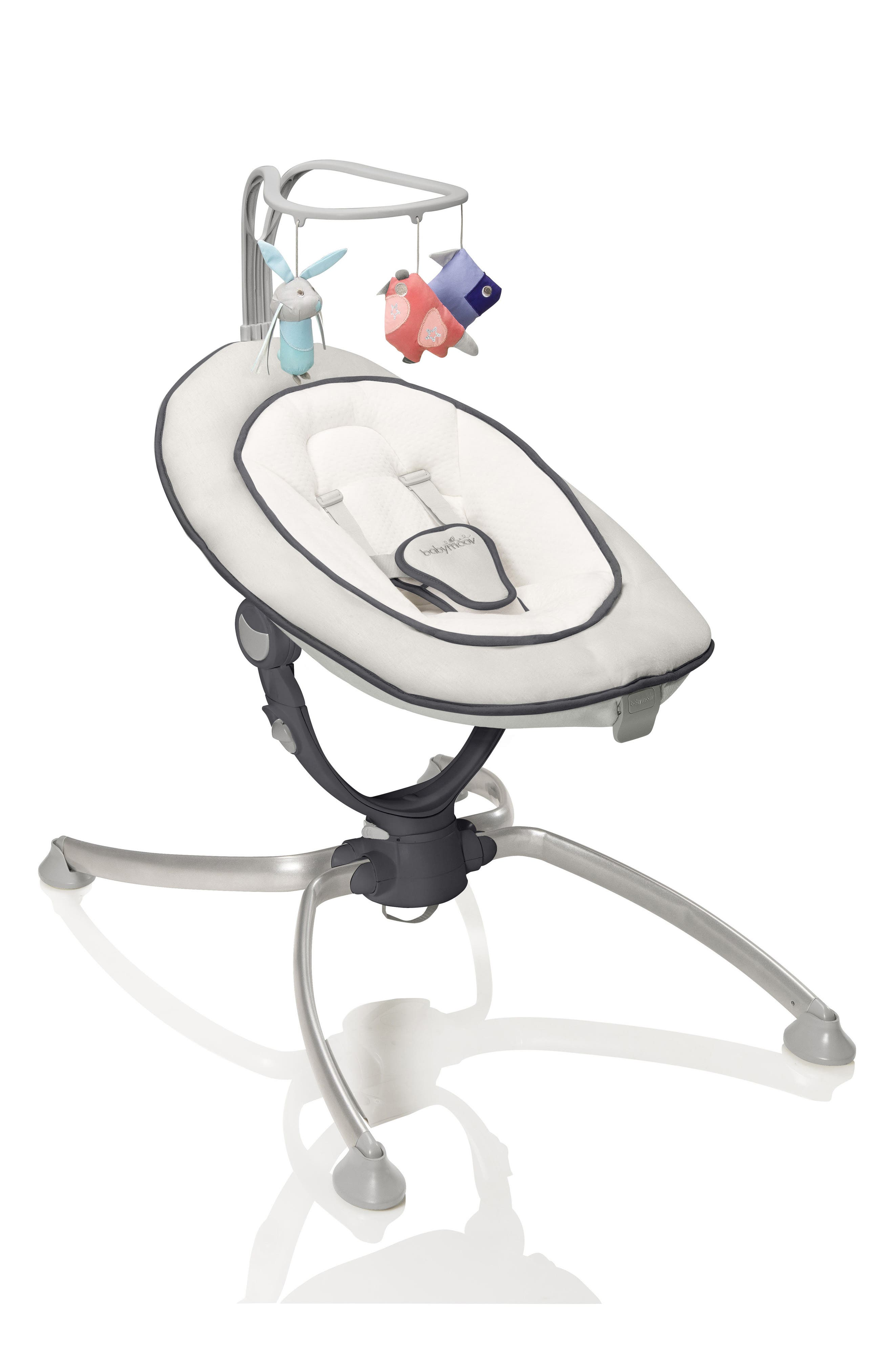 Swoon Up Baby Bouncer Seat,                             Main thumbnail 1, color,                             Alu