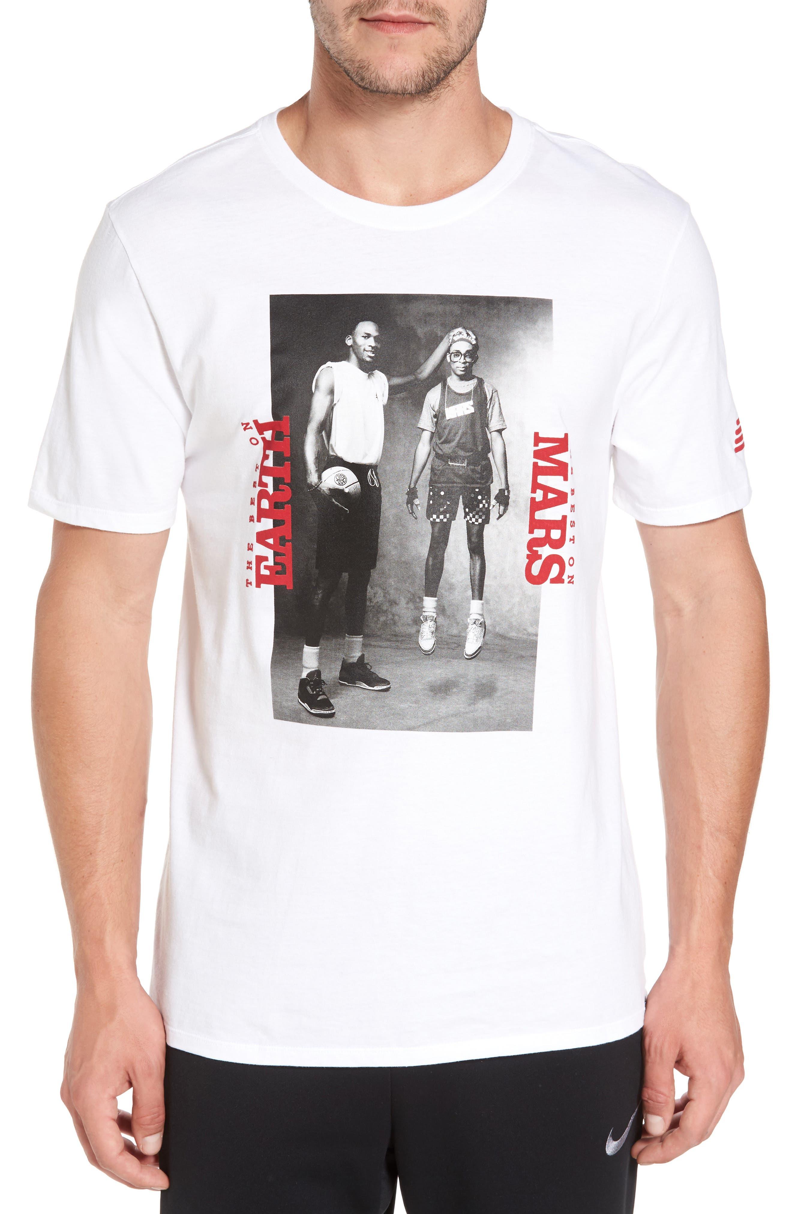 Sportswear Mars Blackmon T-Shirt,                             Main thumbnail 1, color,                             White