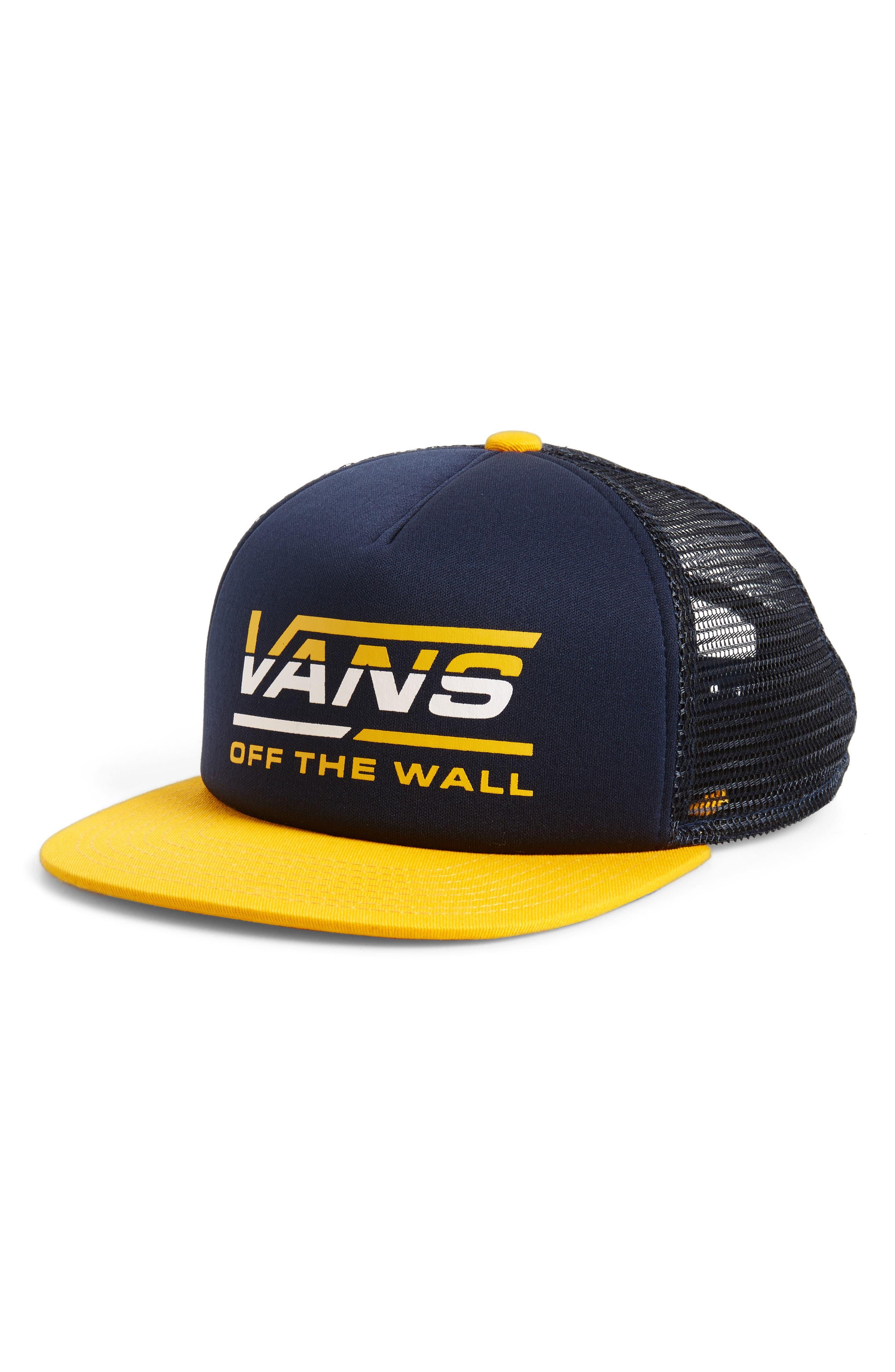 Alternate Image 1 Selected - Vans Mercer Trucker Hat (Boys)