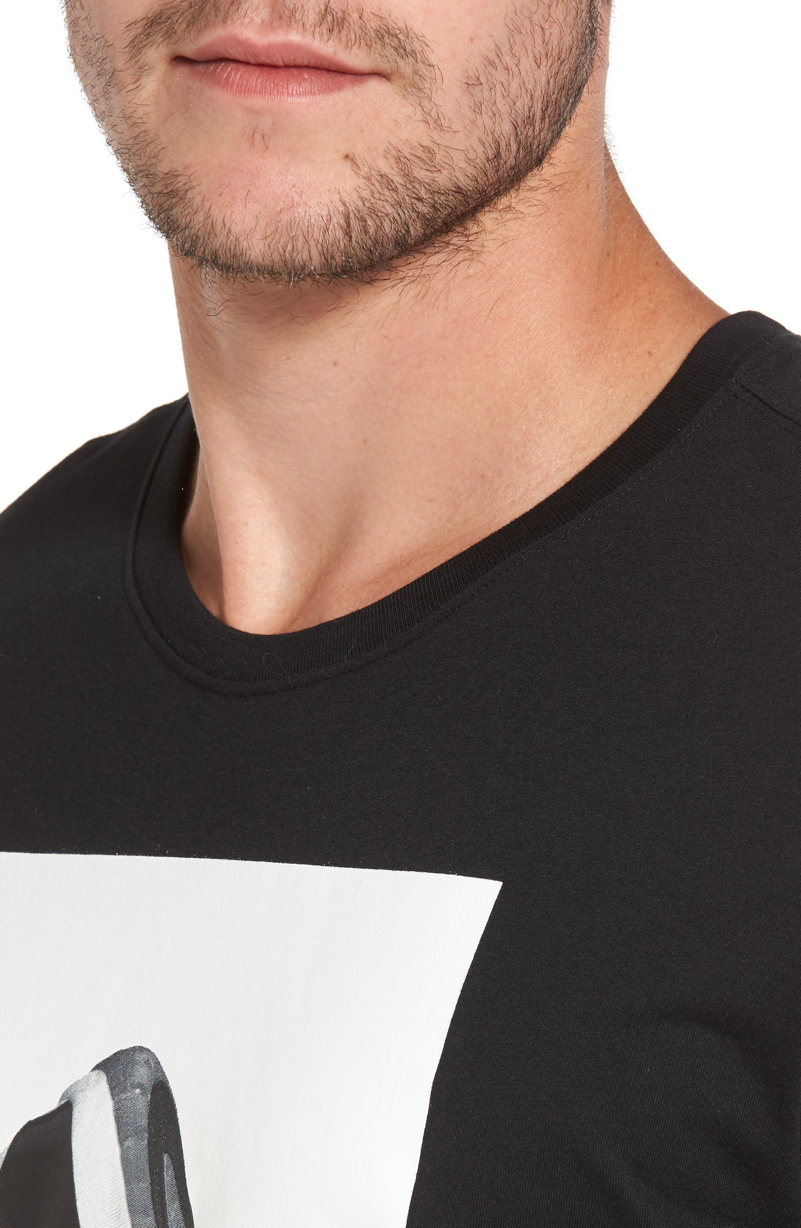 Sportswear AJ11 CNXN Graphic T-Shirt,                             Alternate thumbnail 4, color,                             Black