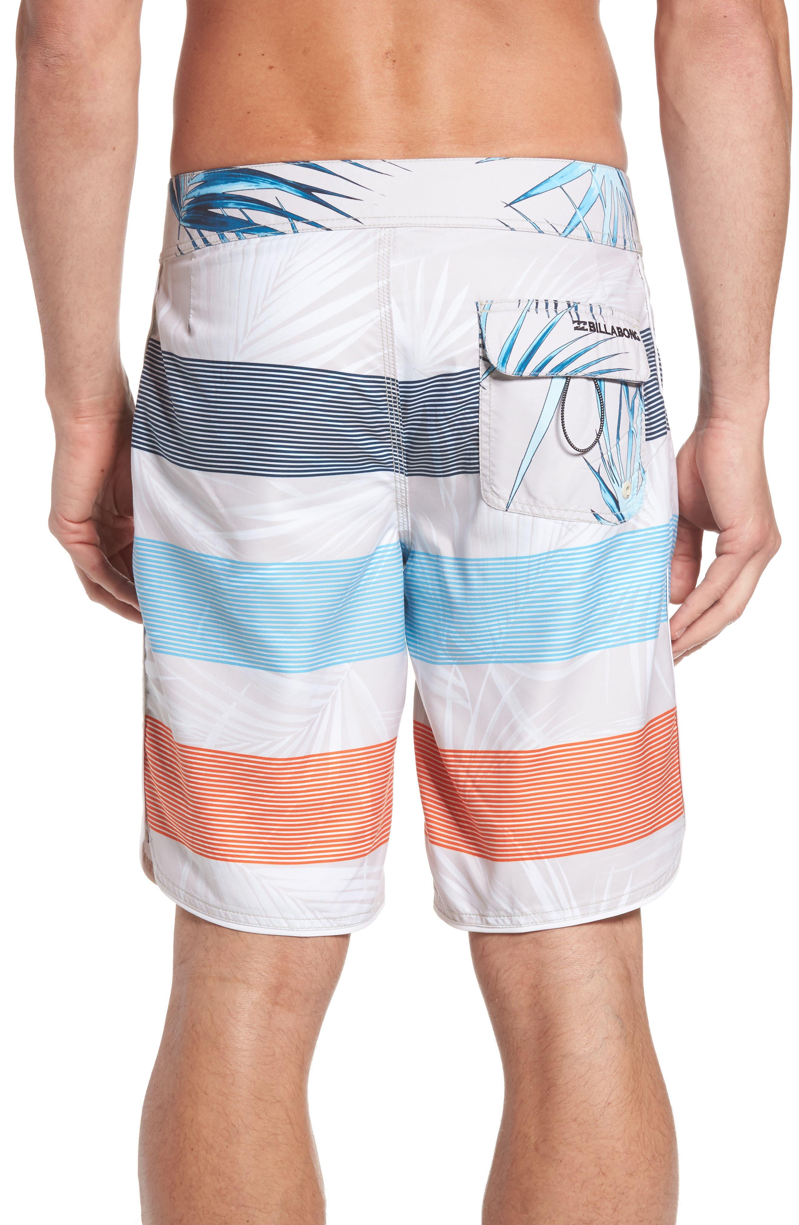 73 OG Stripe Board Shorts,                             Alternate thumbnail 2, color,                             Stone
