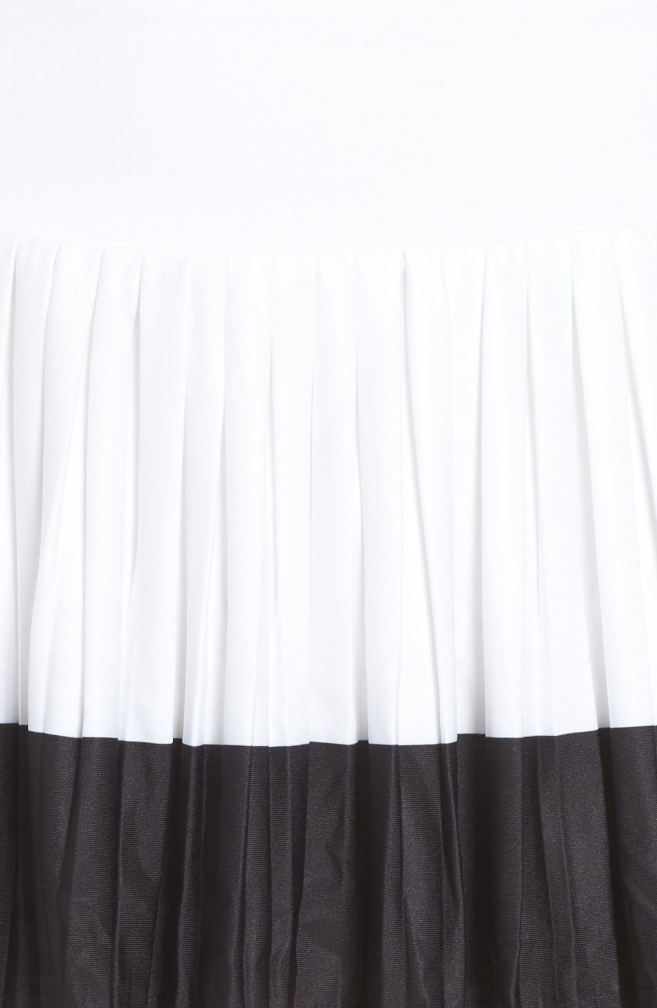 Barricade Skirt,                             Alternate thumbnail 5, color,                             White/ Black