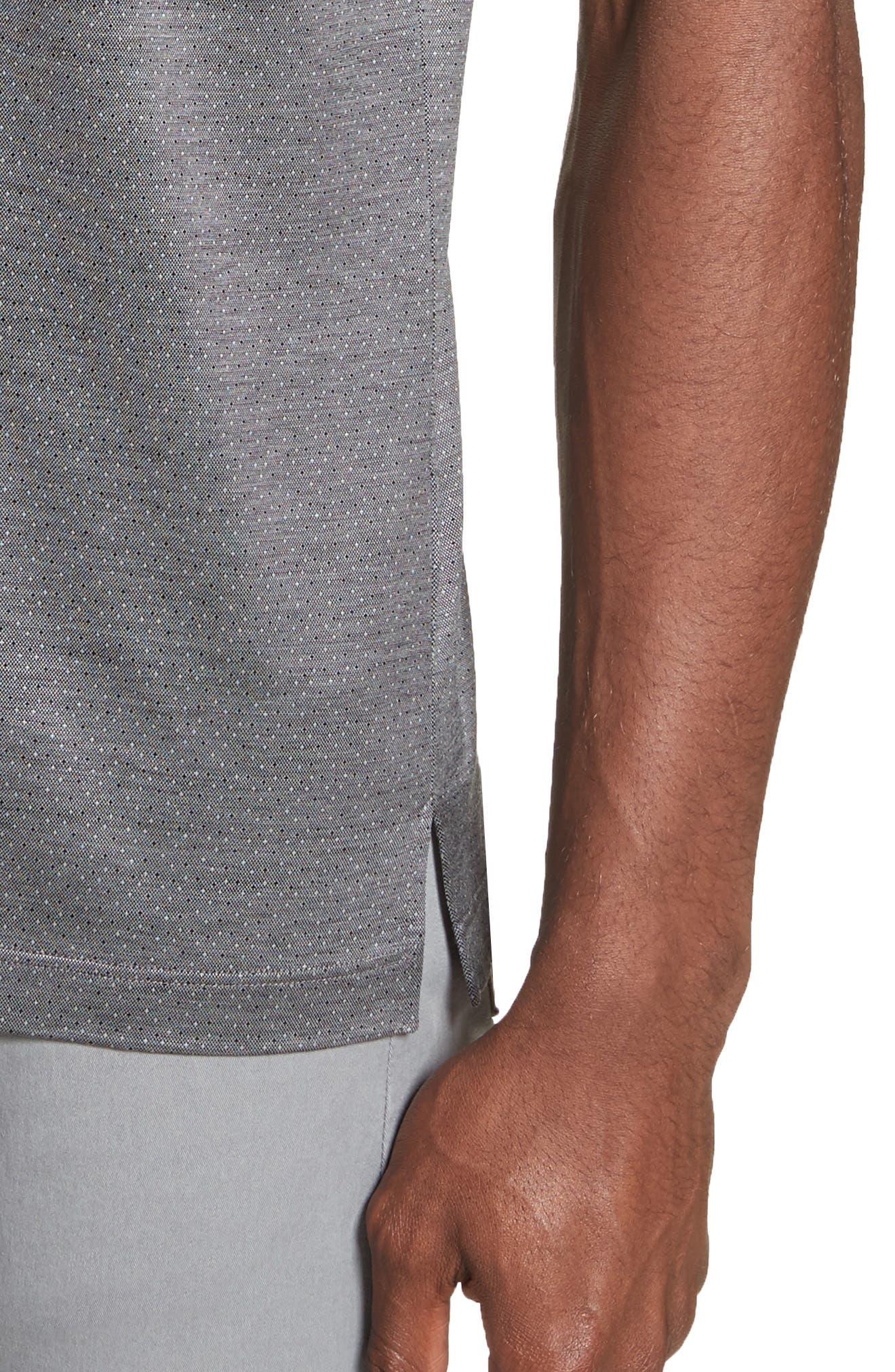 Alternate Image 4  - Canali Fancy Slim Fit Polo