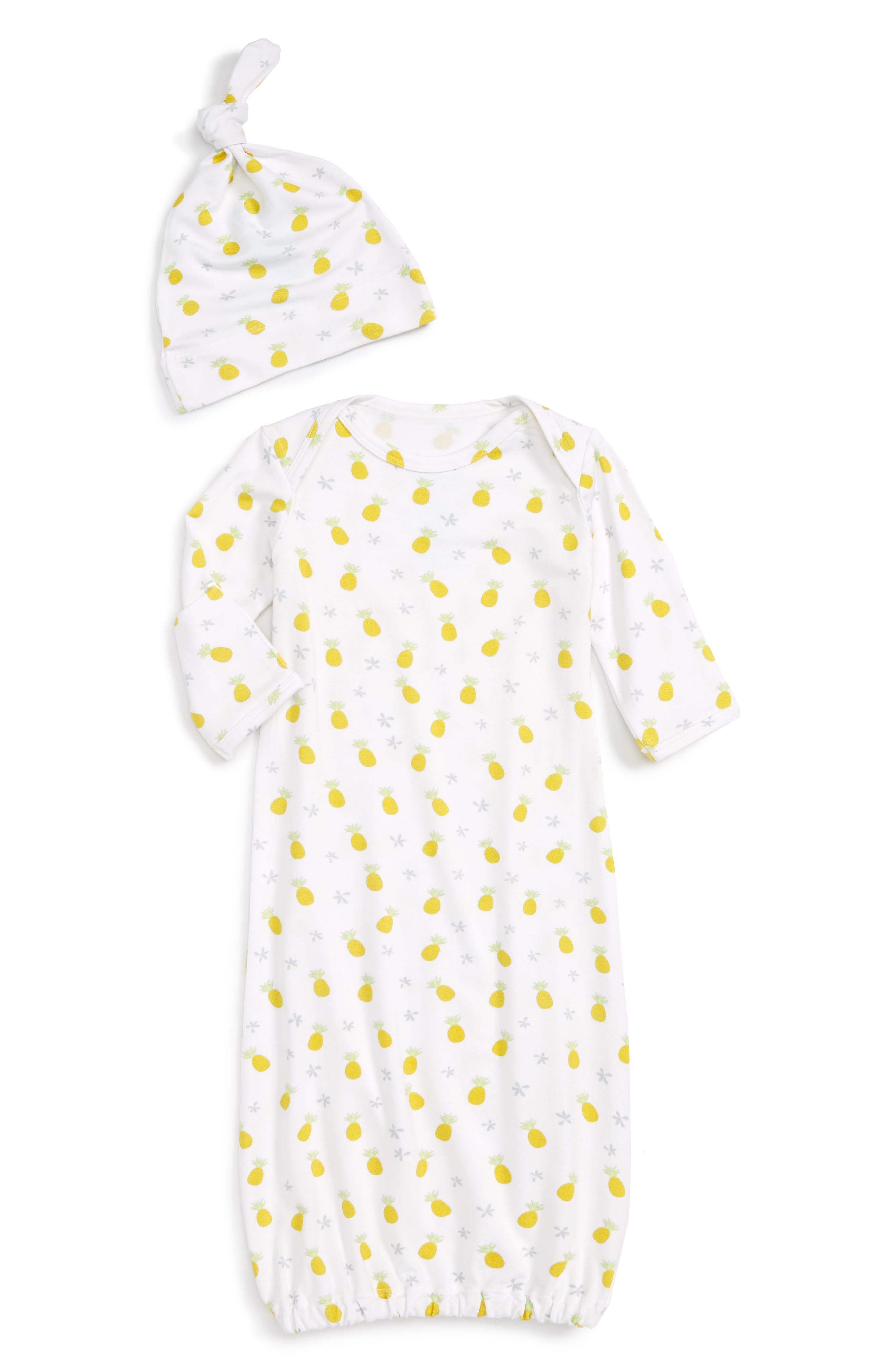 Coco Moon Pineapple Gown & Hat Set (Baby)