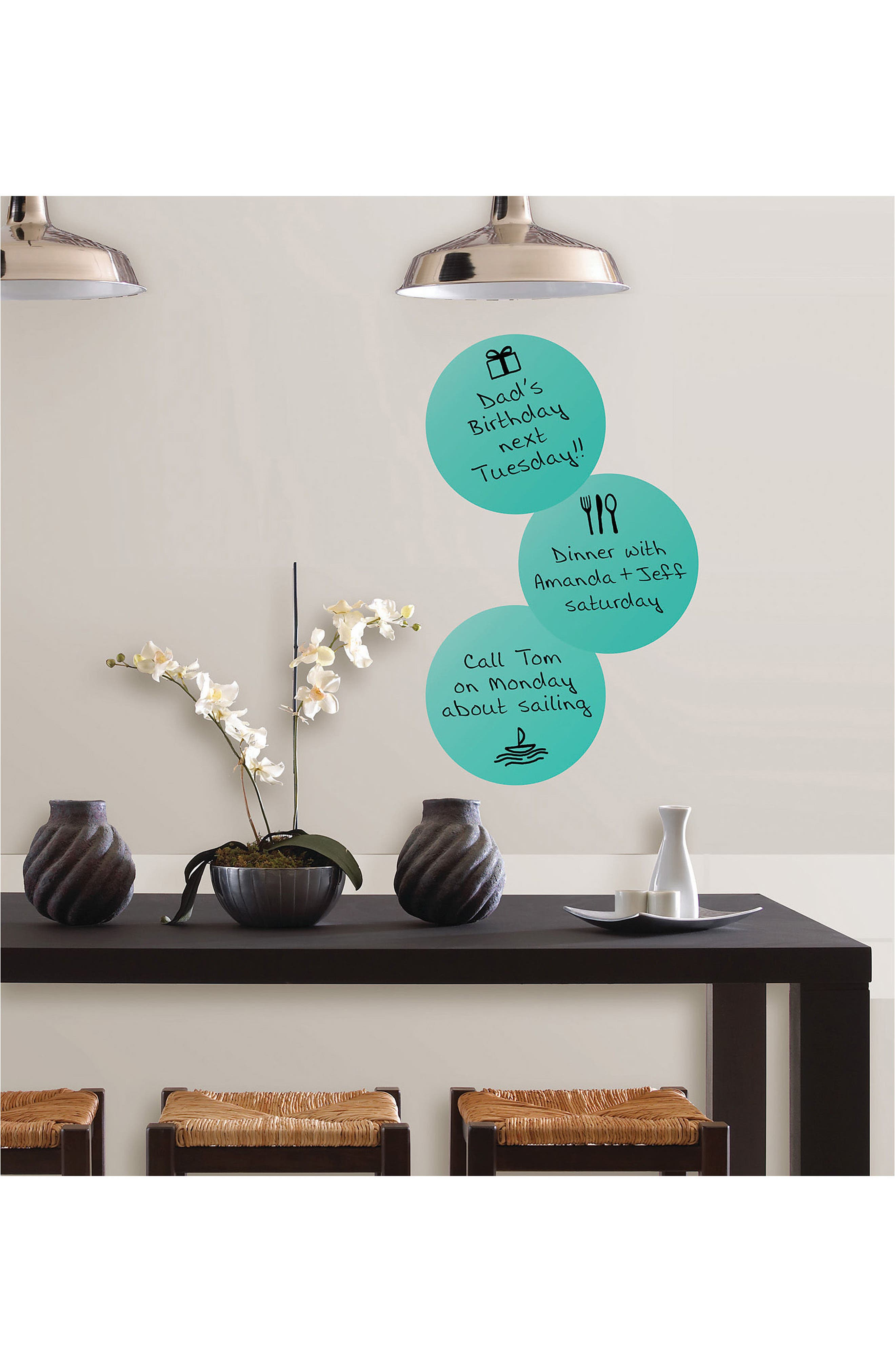 Wallpops Calypso Dry Erase Peel & Stick Vinyl Dot Decals