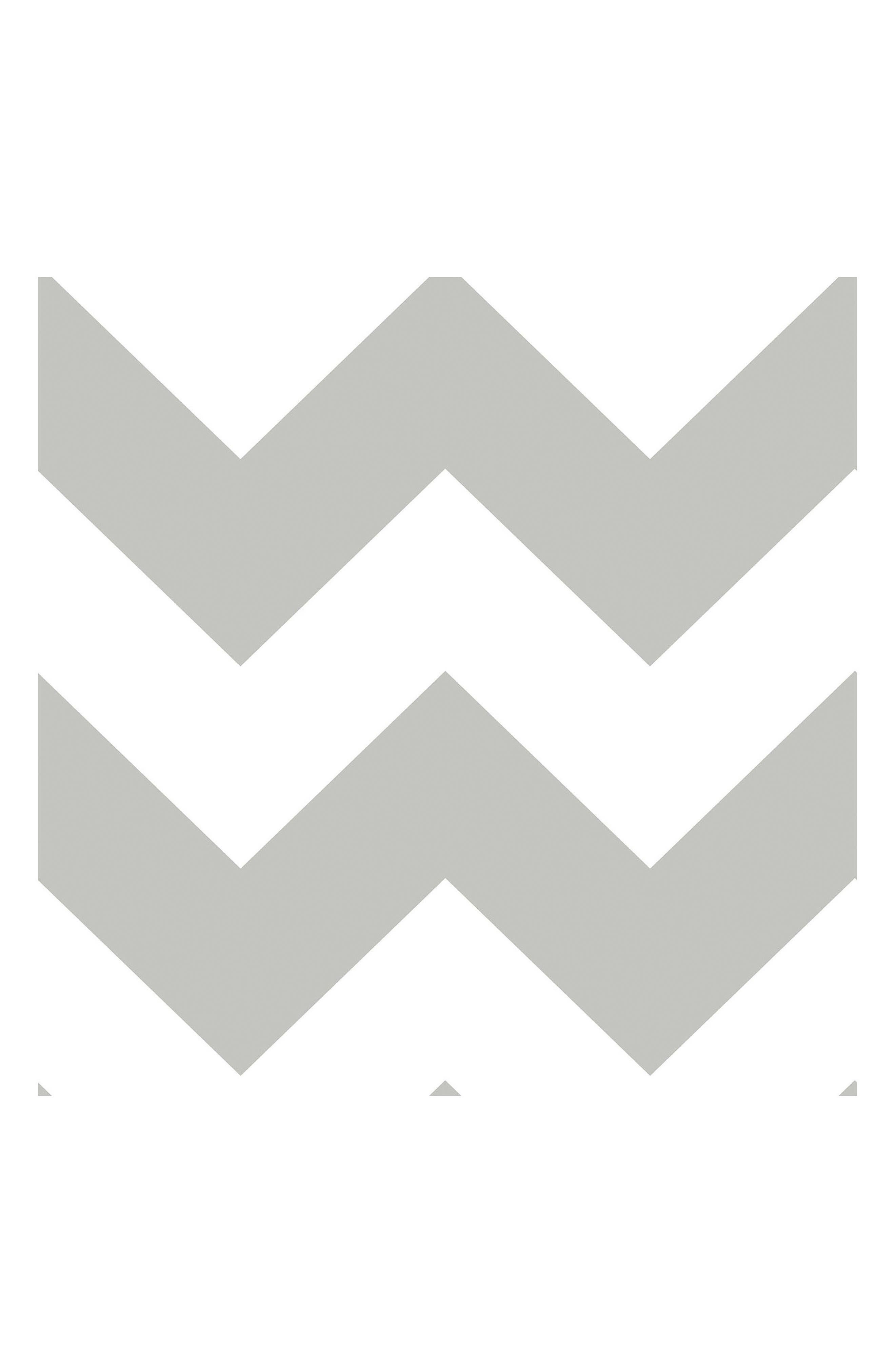 Wallpops Ziggy Chevron Peel & Stick Vinyl Wallpaper