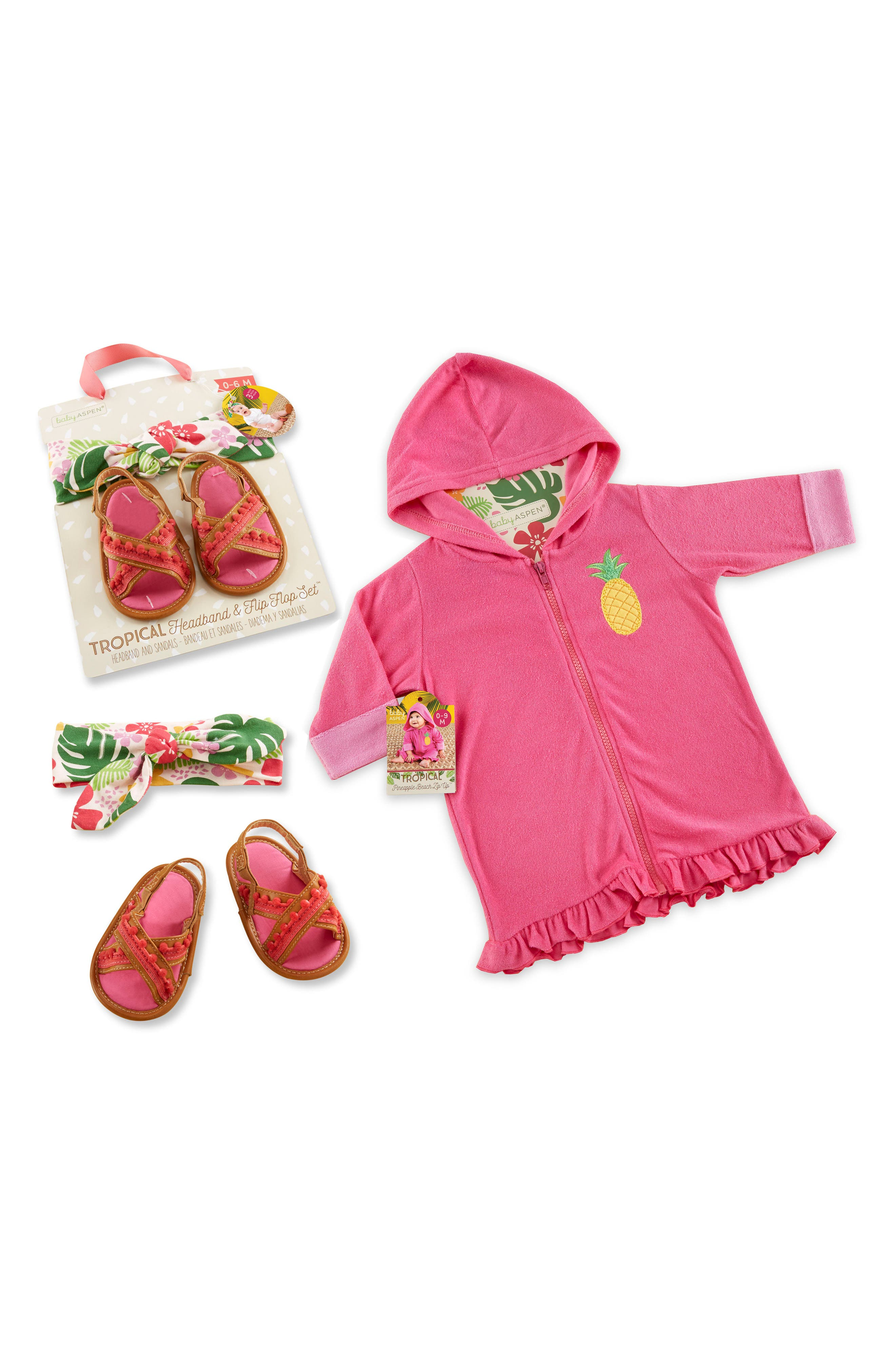 Baby Aspen Tropical 3-Piece Gift Set (Baby)