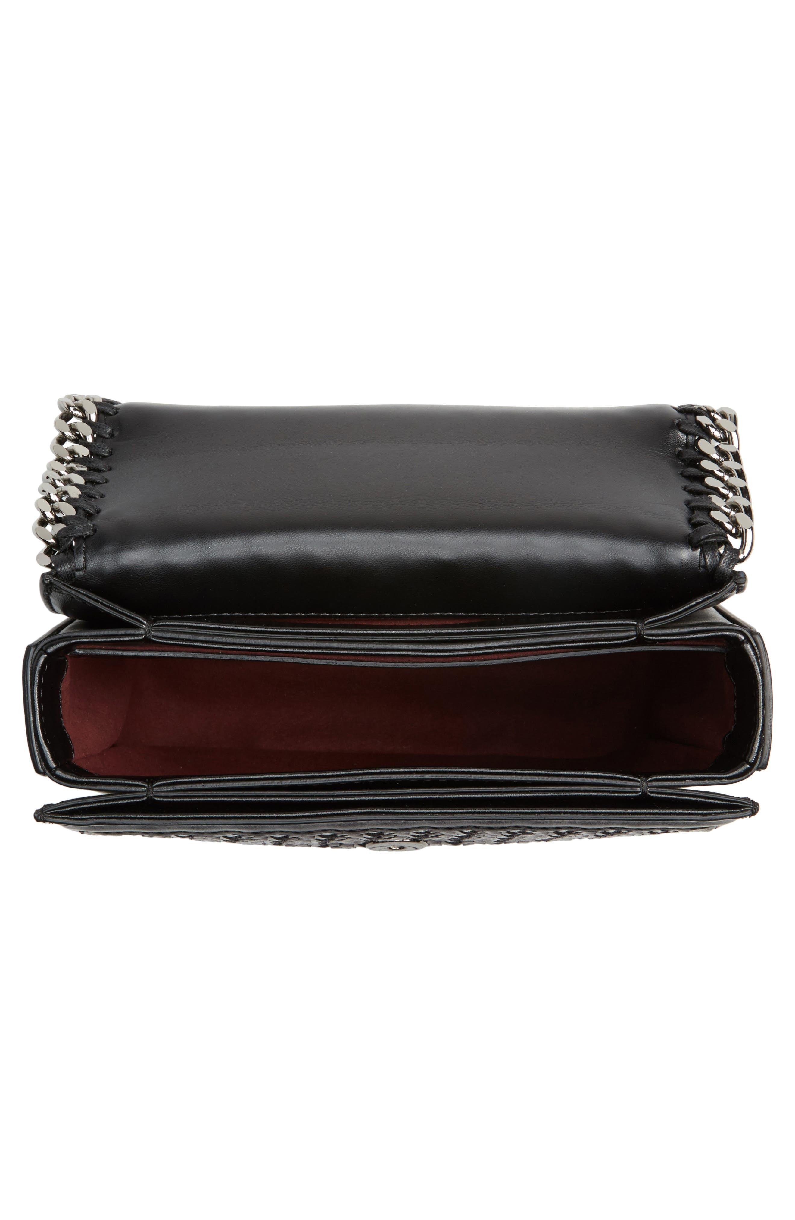 Alternate Image 3  - Stella McCartney Falabella Box Woven Faux Leather Shoulder Bag