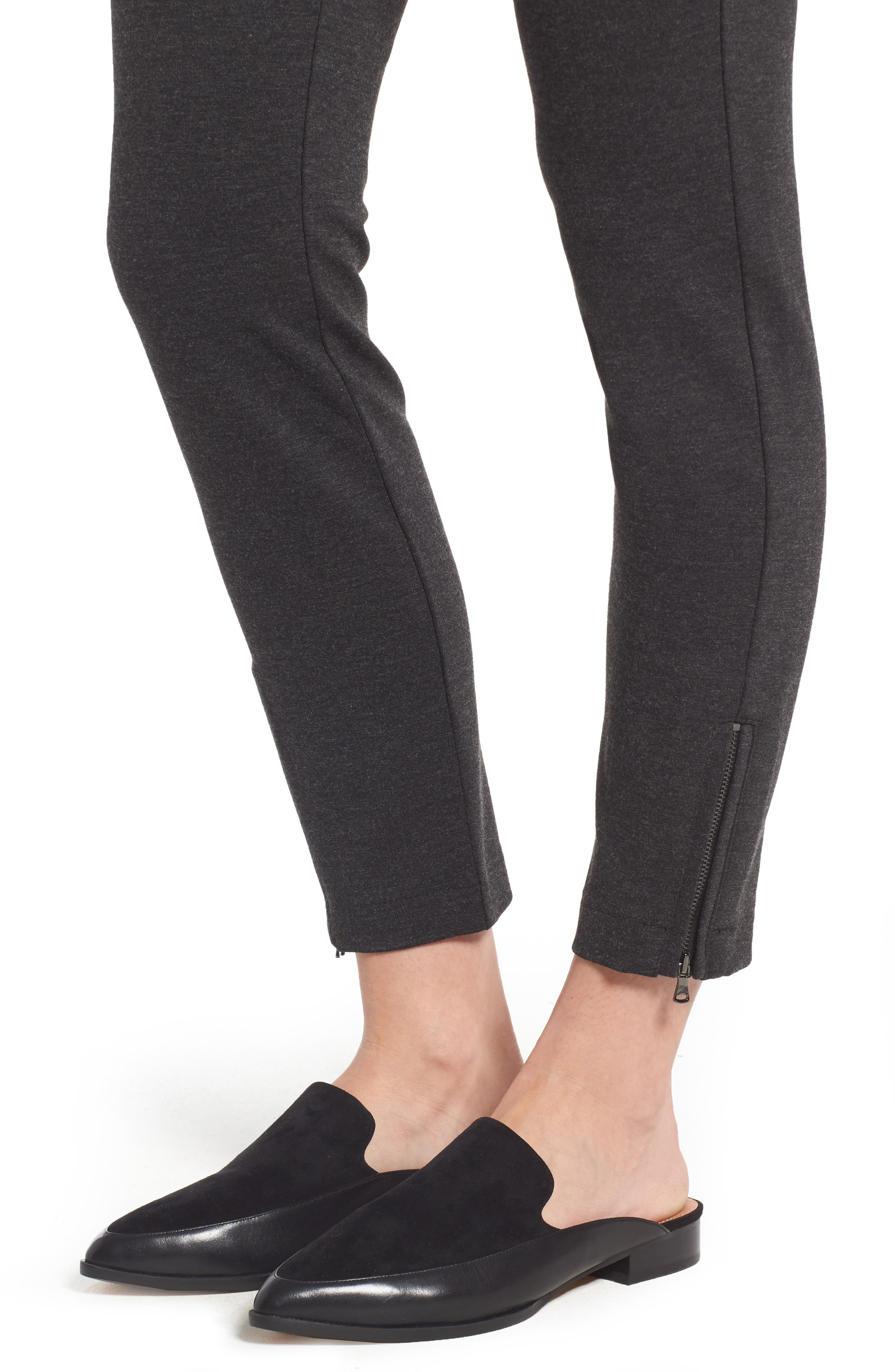 Alternate Image 4  - NYDJ Zip Ankle Ponte Leggings (Regular & Petite)