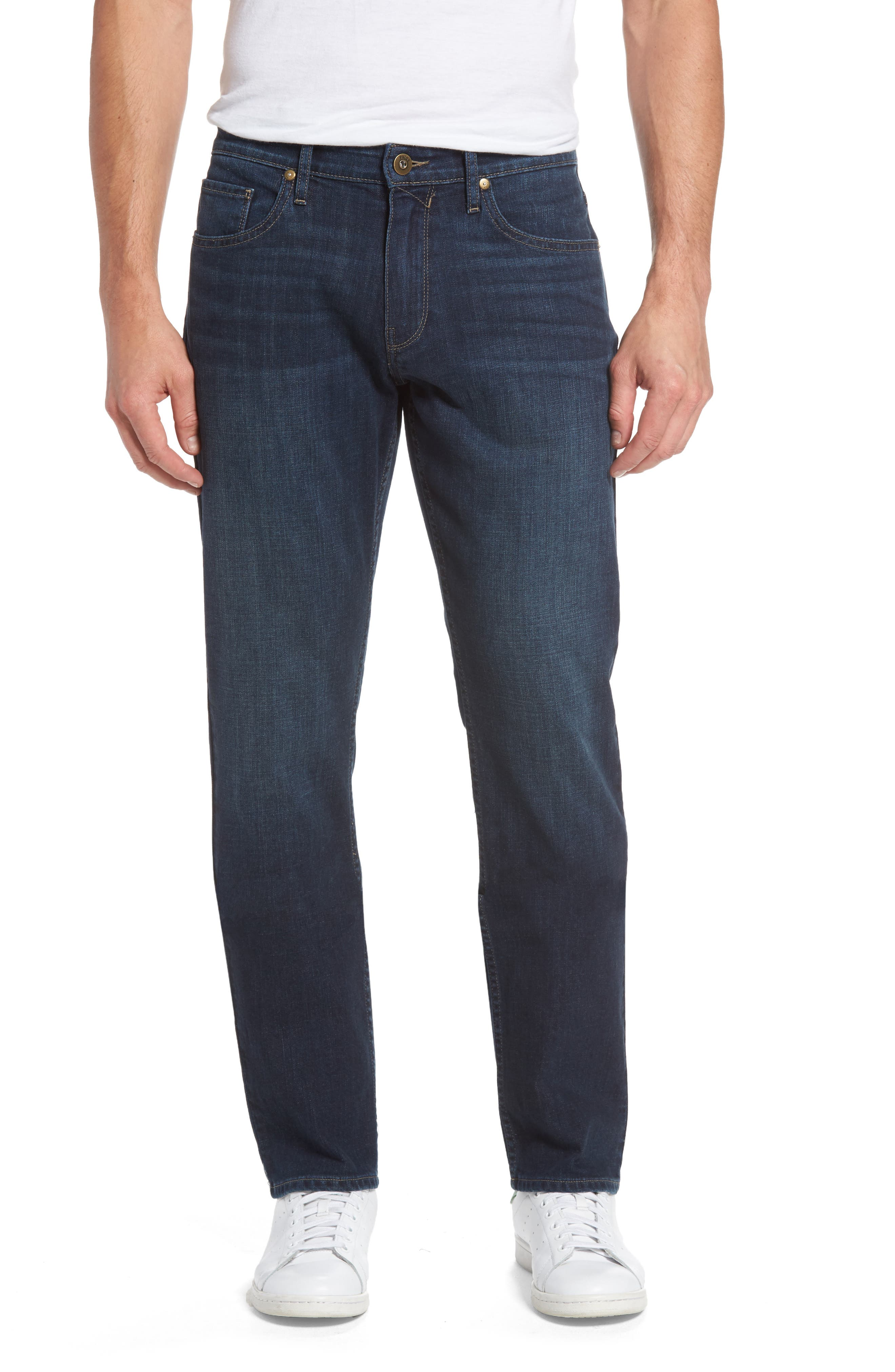 Alternate Image 1 Selected - PAIGE Federal Slim Straight Leg Jeans (Arnold)