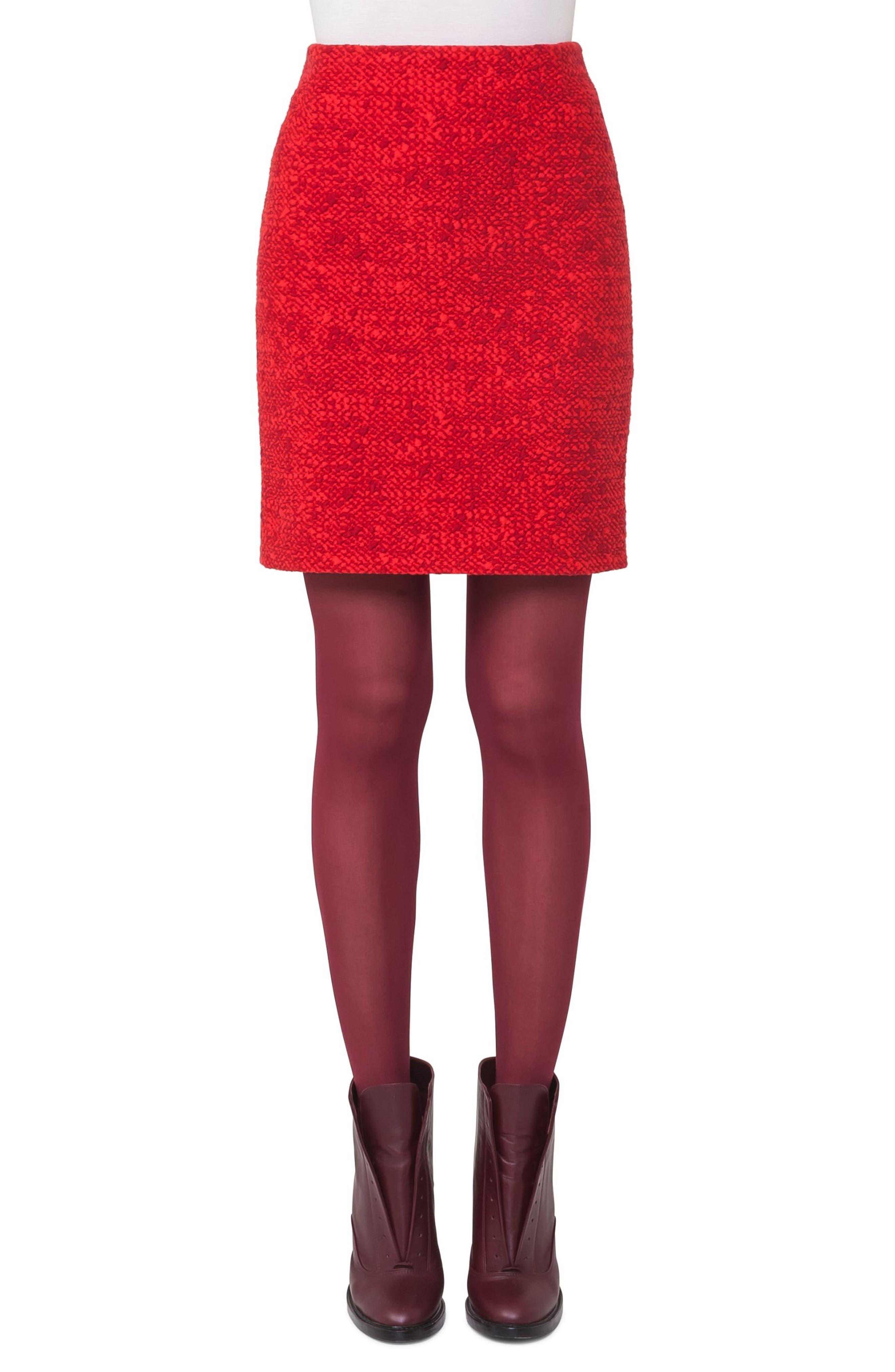 Main Image - Akris punto Jersey Skirt