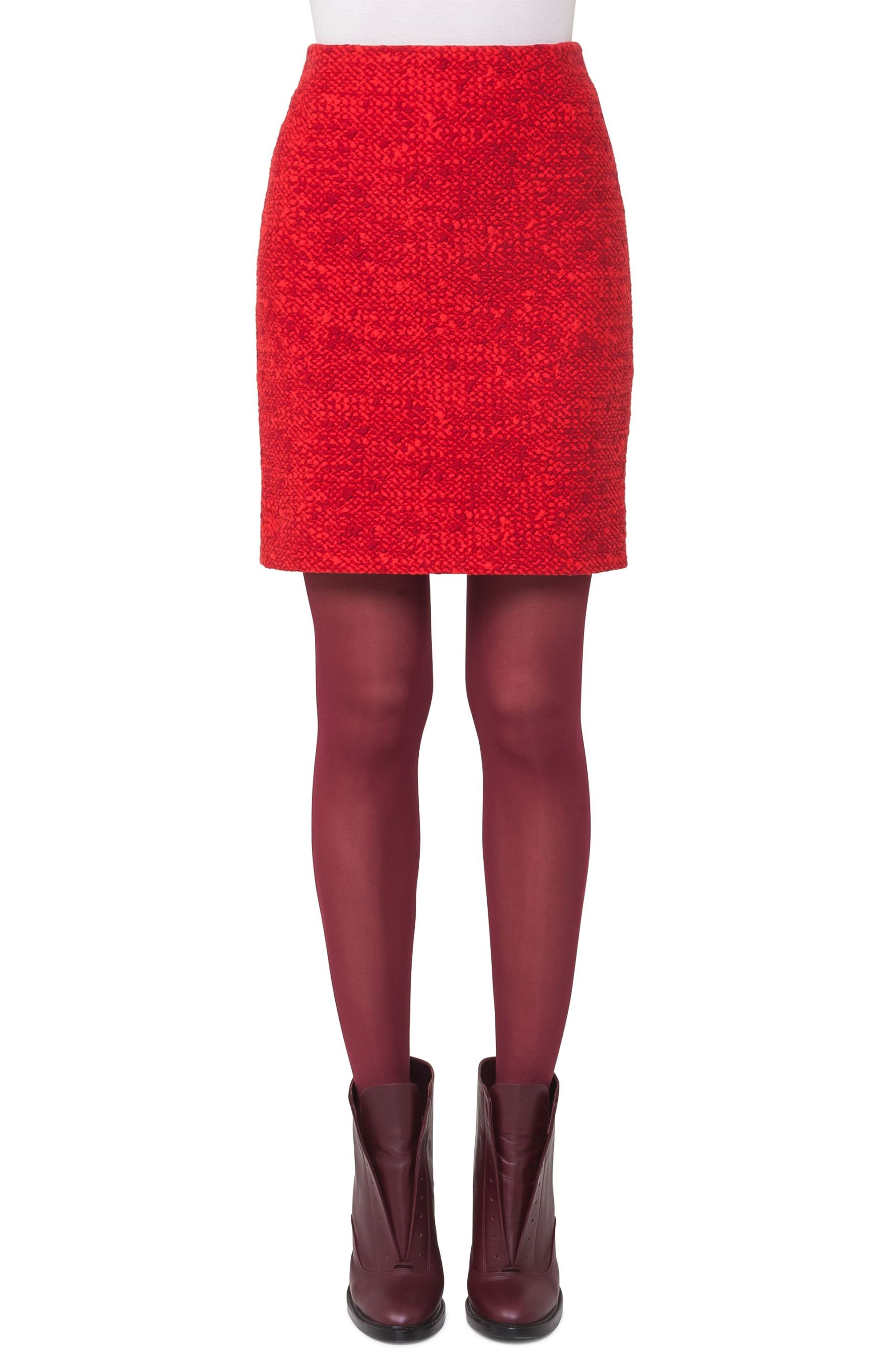 Jersey Skirt,                         Main,                         color, Chili-Ruby
