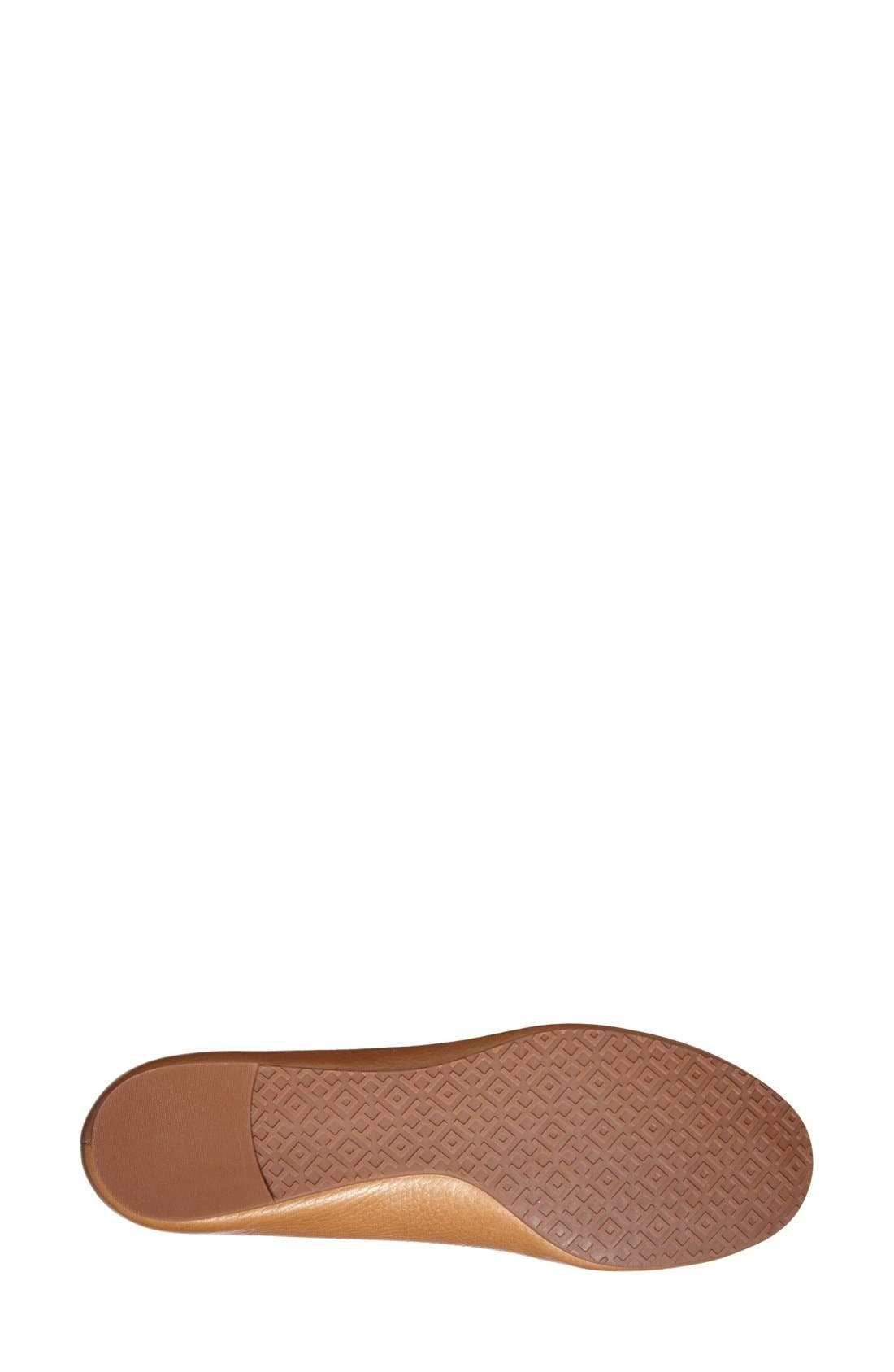 Alternate Image 4  - Tory Burch Reva Ballerina Flat (Women)