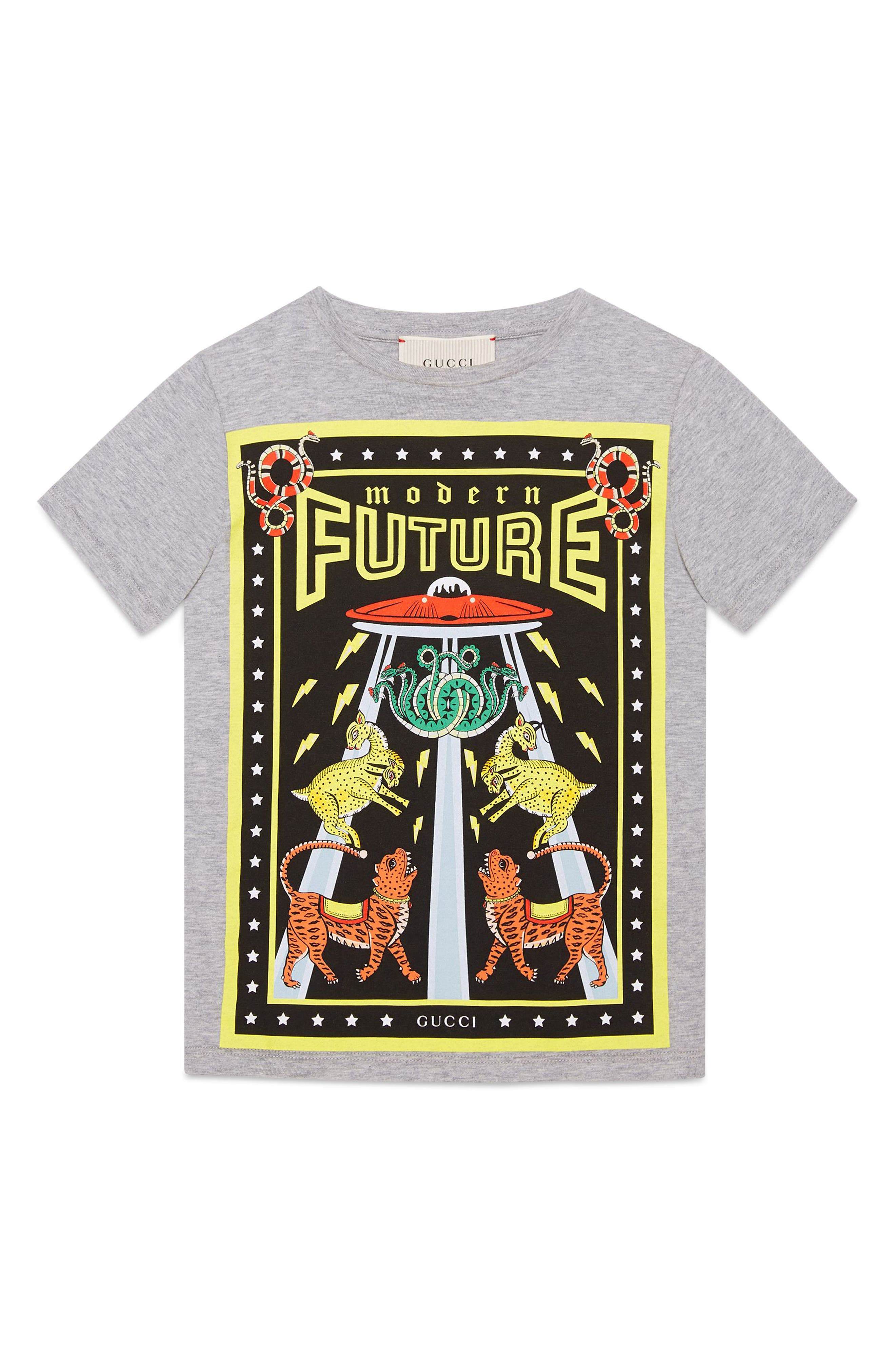 Gucci Modern Future Graphic Print T-Shirt (Little Boys & Big Boys)