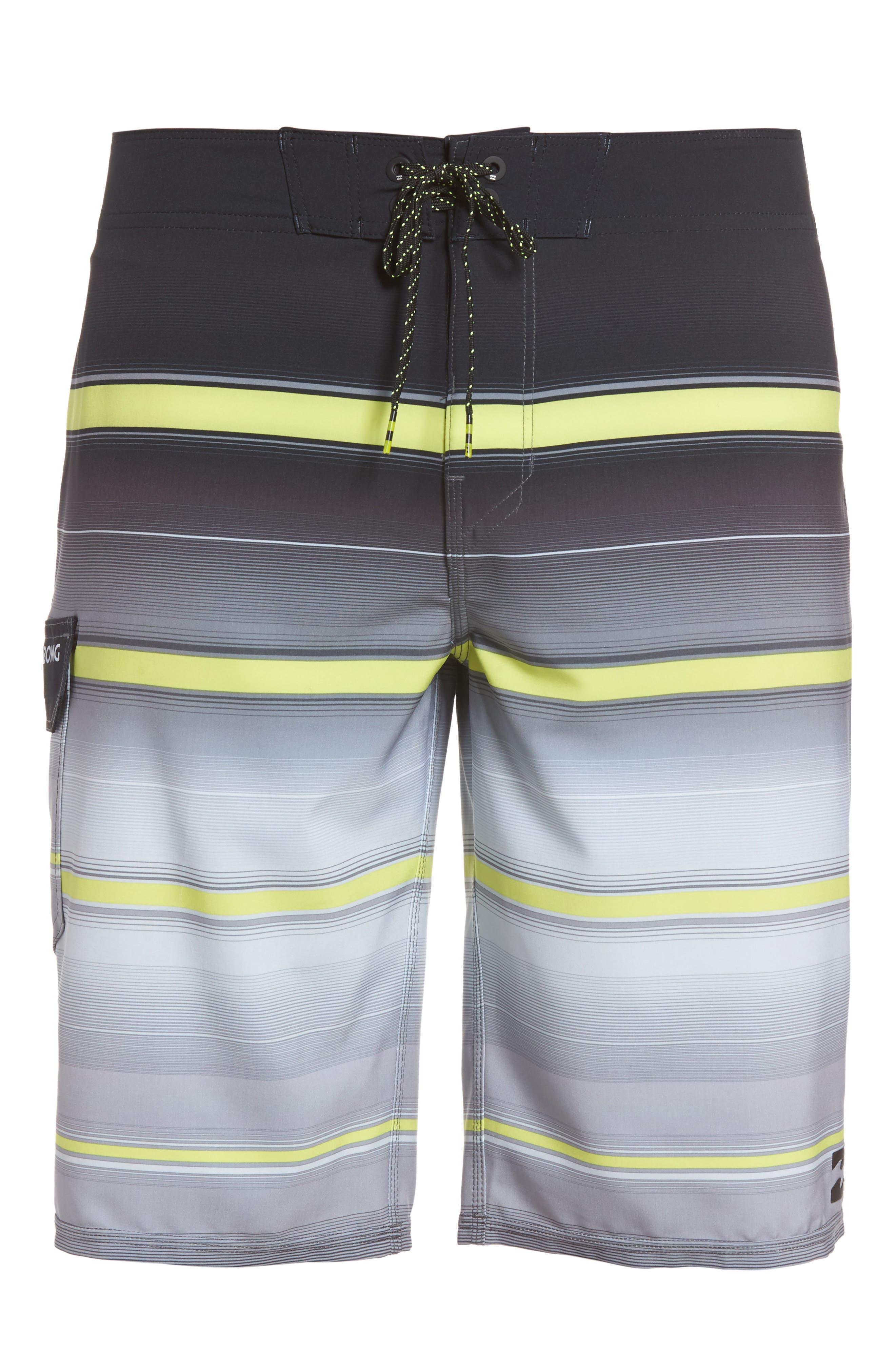 Alternate Image 6  - Billabong All Day X Stripe Board Shorts (Regular & Big)