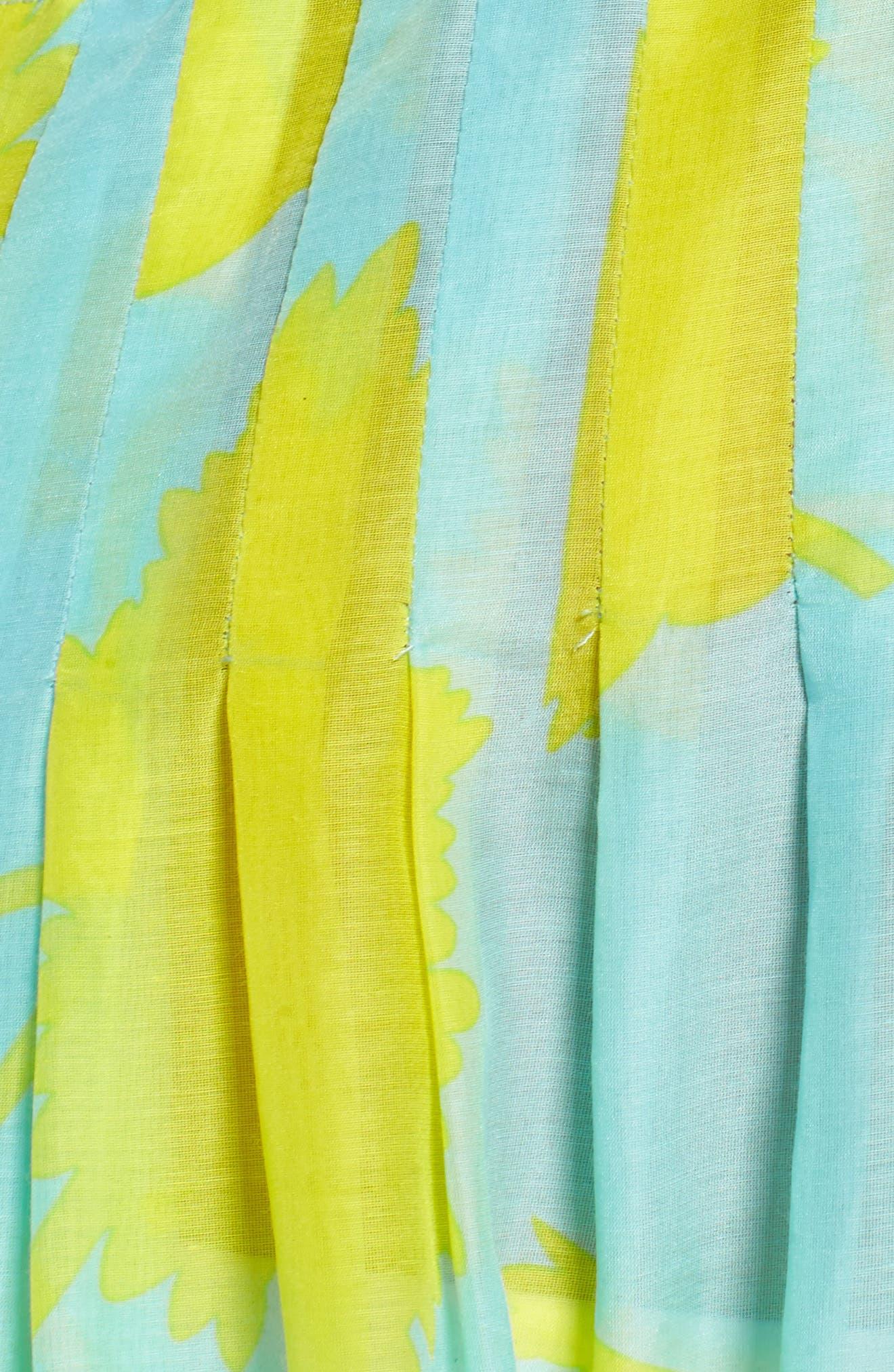 Cover-Up Midi Dress,                             Alternate thumbnail 5, color,                             Cardan Lr