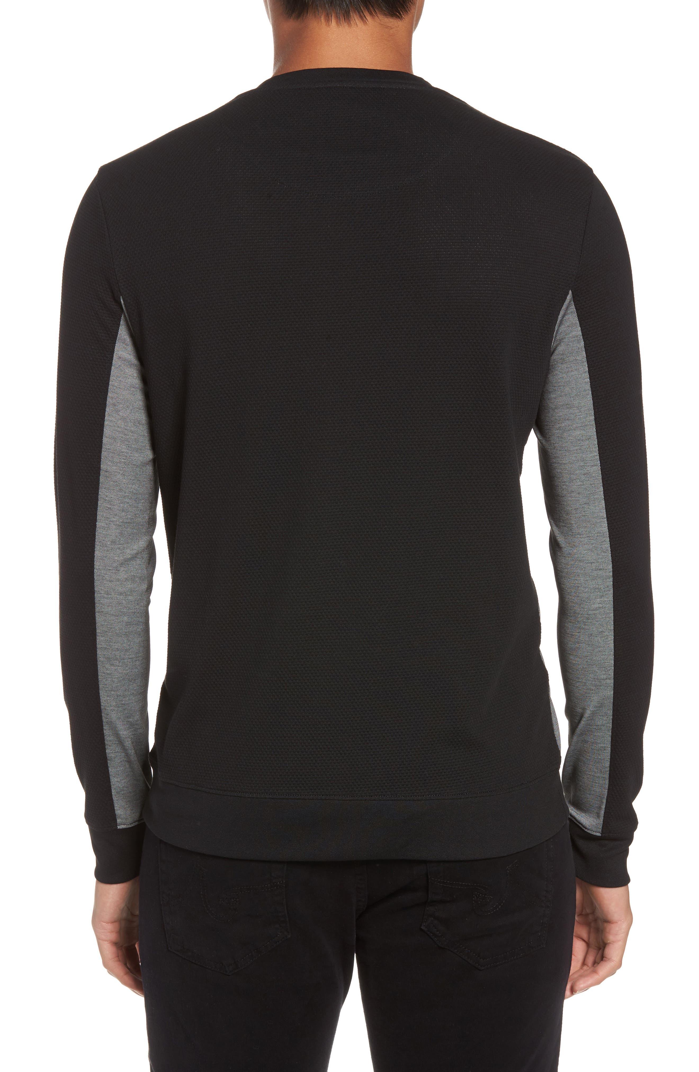 Alternate Image 2  - Vince Colorblock Slim Fit Crewneck Sweater