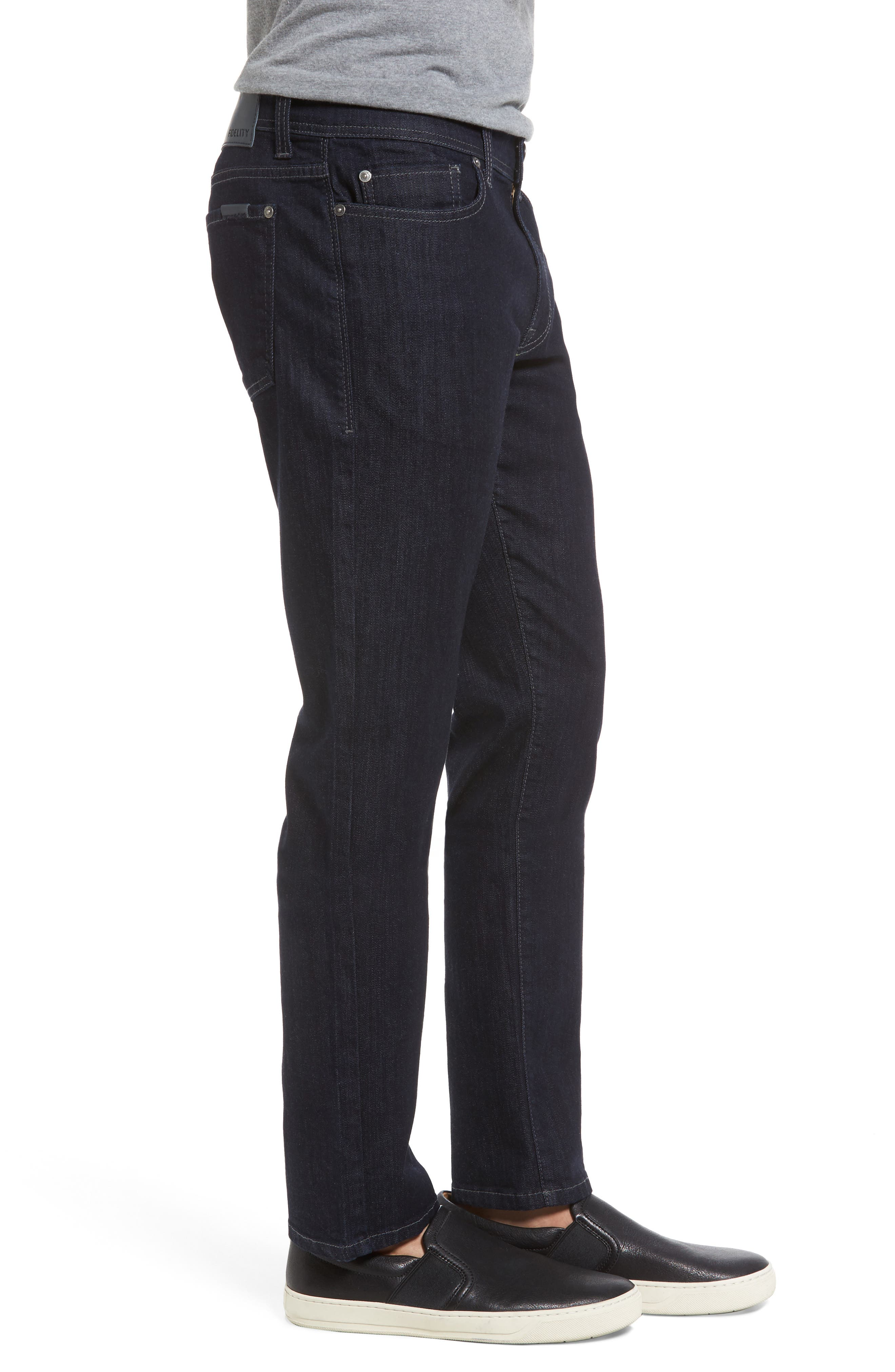 Alternate Image 3  - Fidelity Denim Torino Slim Fit Jeans (Capital Blue)