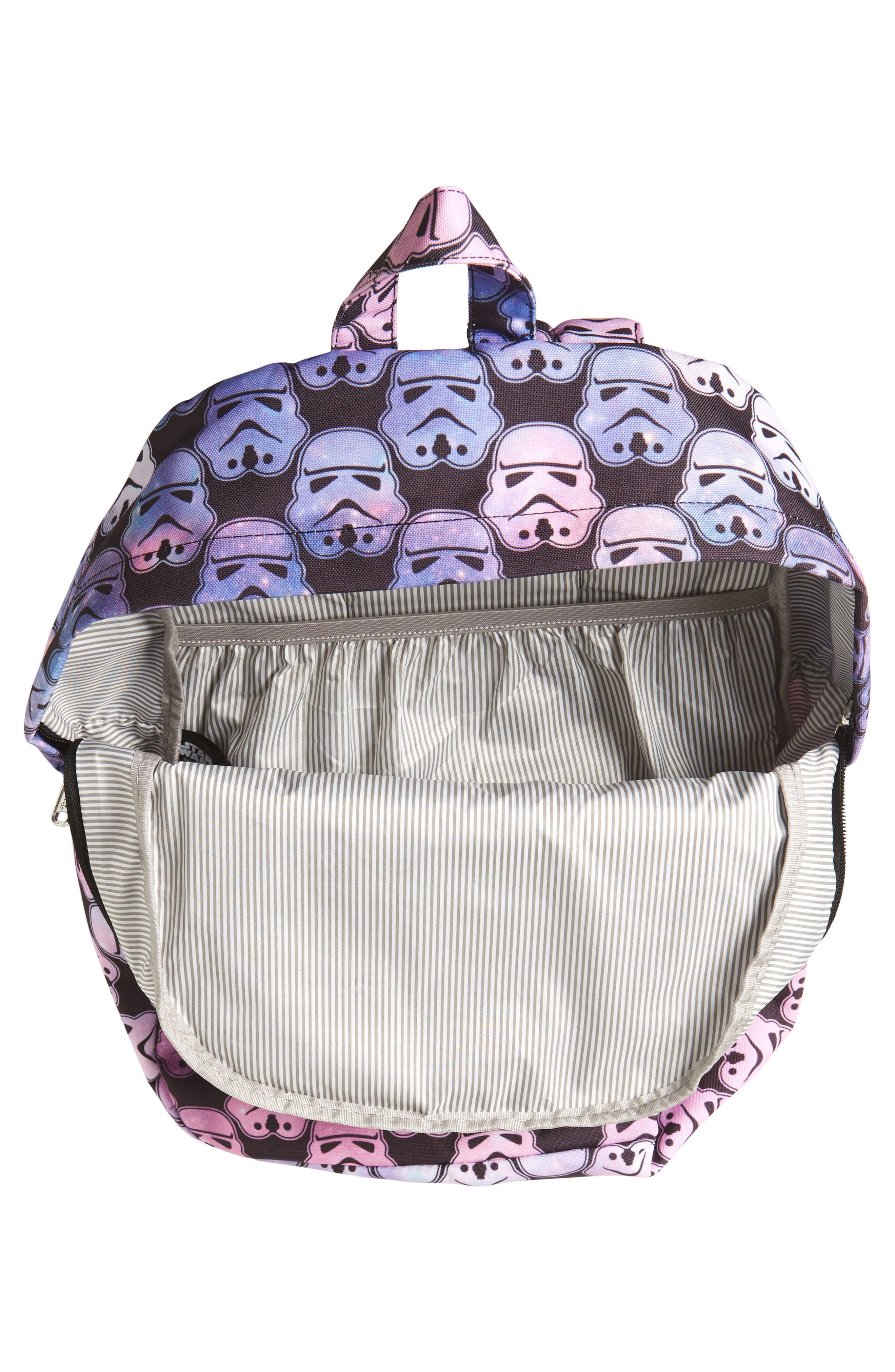 Alternate Image 3  - Loungefly Star Wars™ Stormtrooper Galaxy Backpack (Kids)