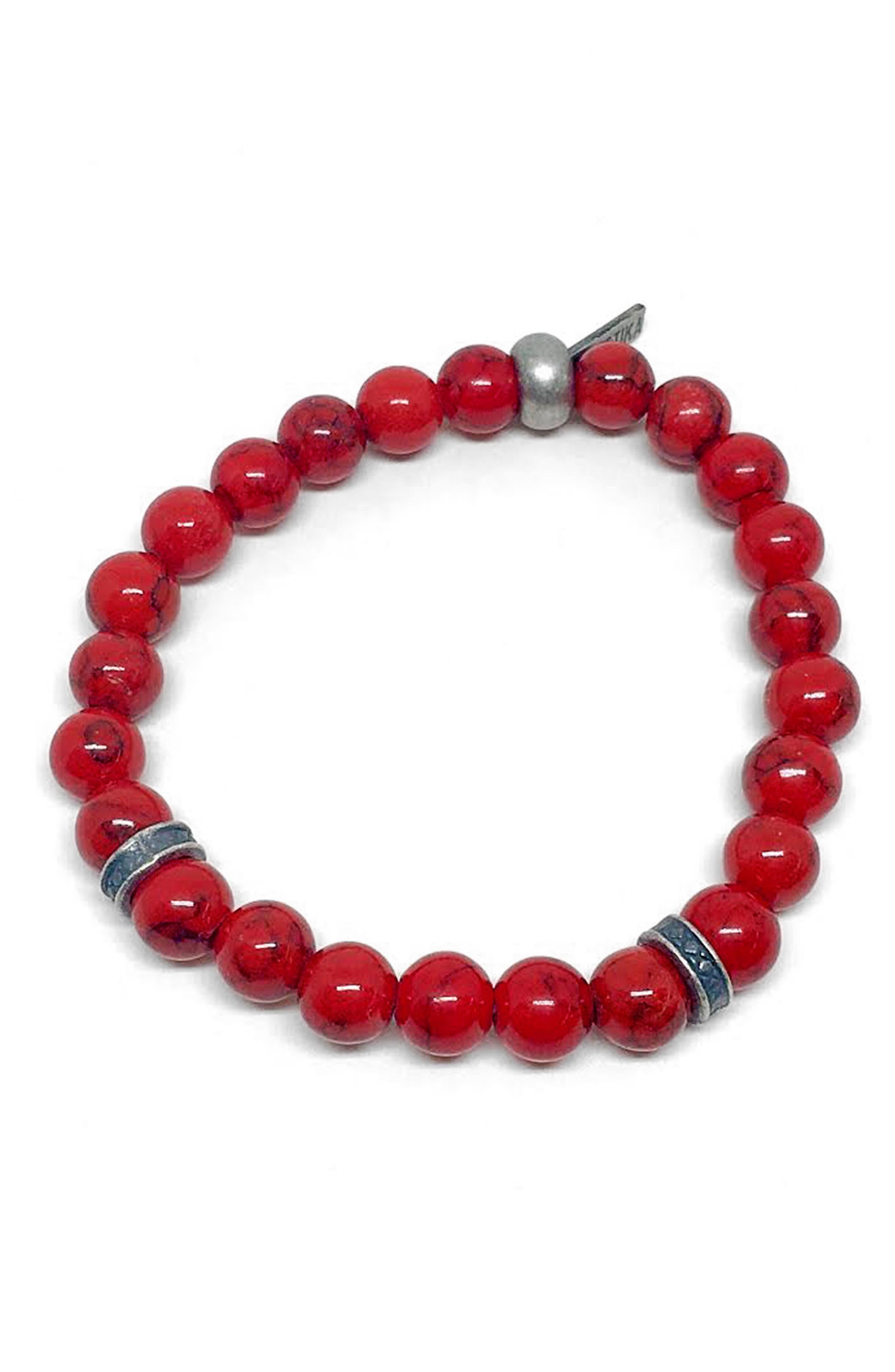 Fire Power Bracelet,                         Main,                         color, Red