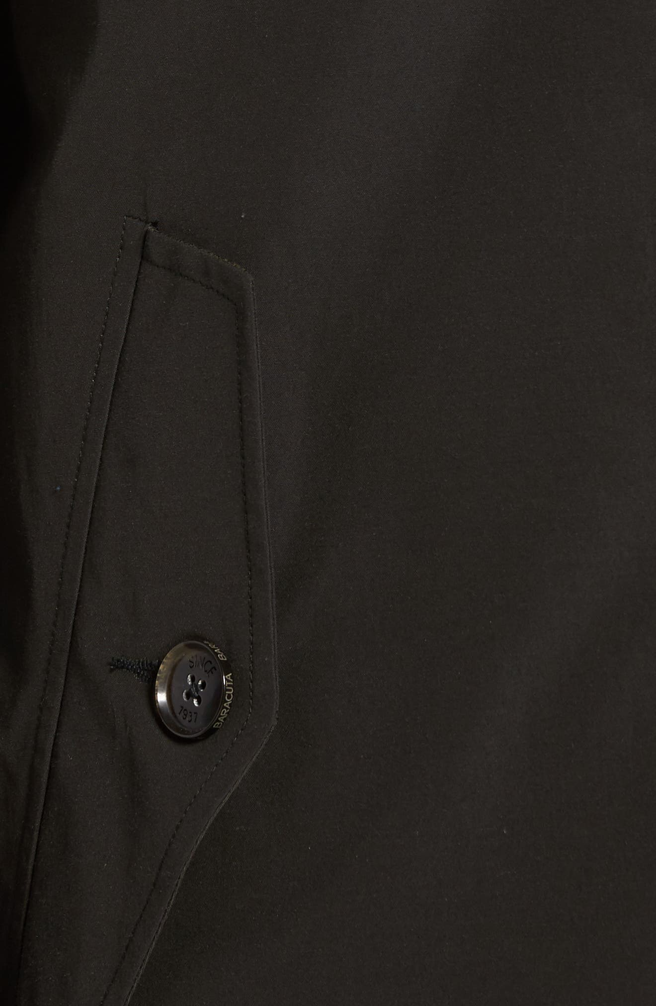 Alternate Image 5  - Baracuta G4 Water Repellent Harrington Jacket