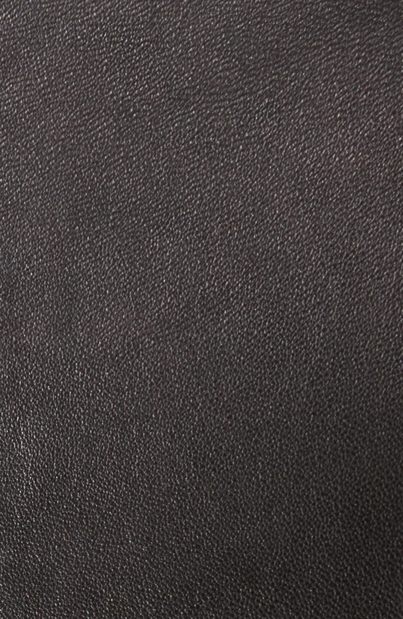 Alternate Image 5  - Alice + Olivia Cody Embellished Leather Moto Jacket