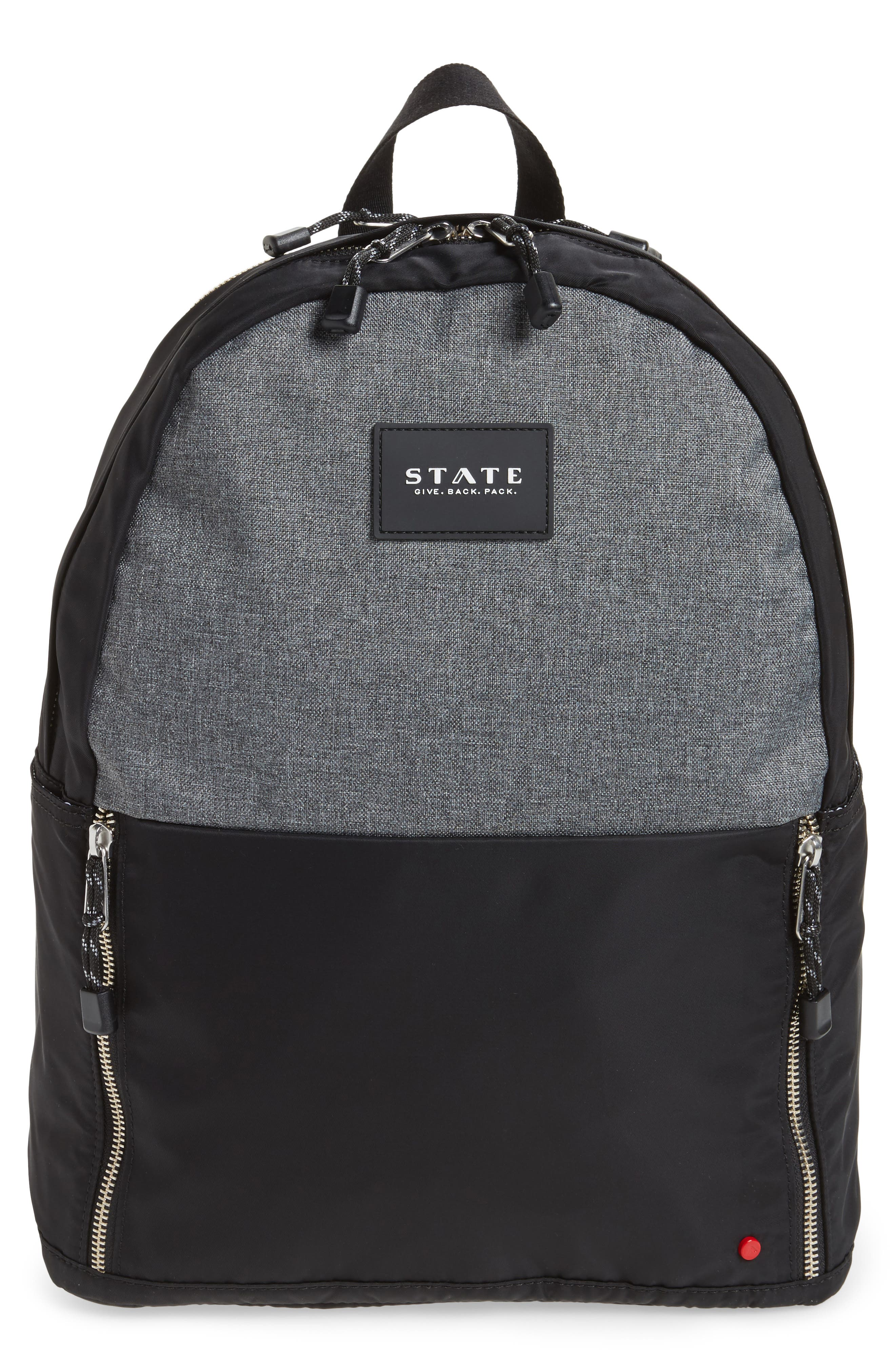 STATE Atlantic Yards Clark Laptop Backpack