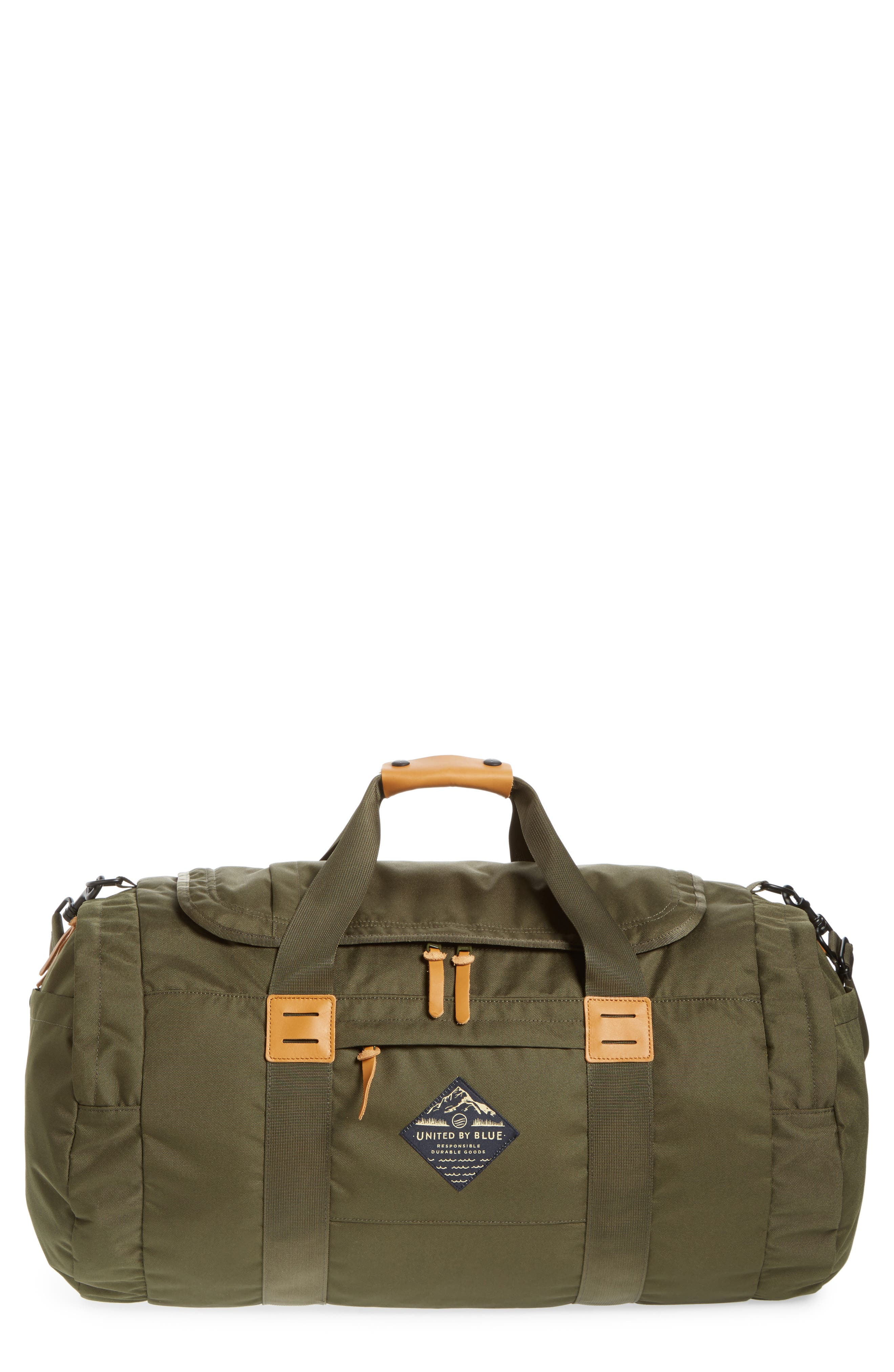 Arc Duffel Bag,                         Main,                         color, Olive