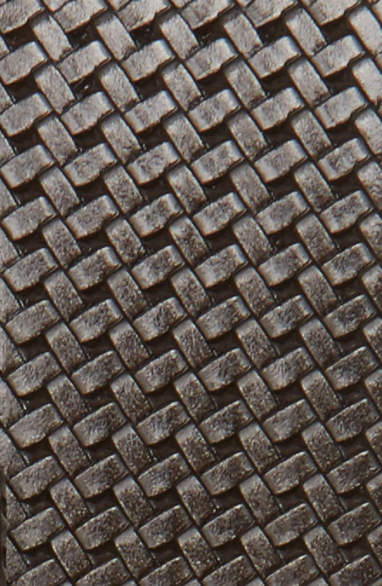 Reversible Leather Belt,                             Alternate thumbnail 3, color,                             Grey
