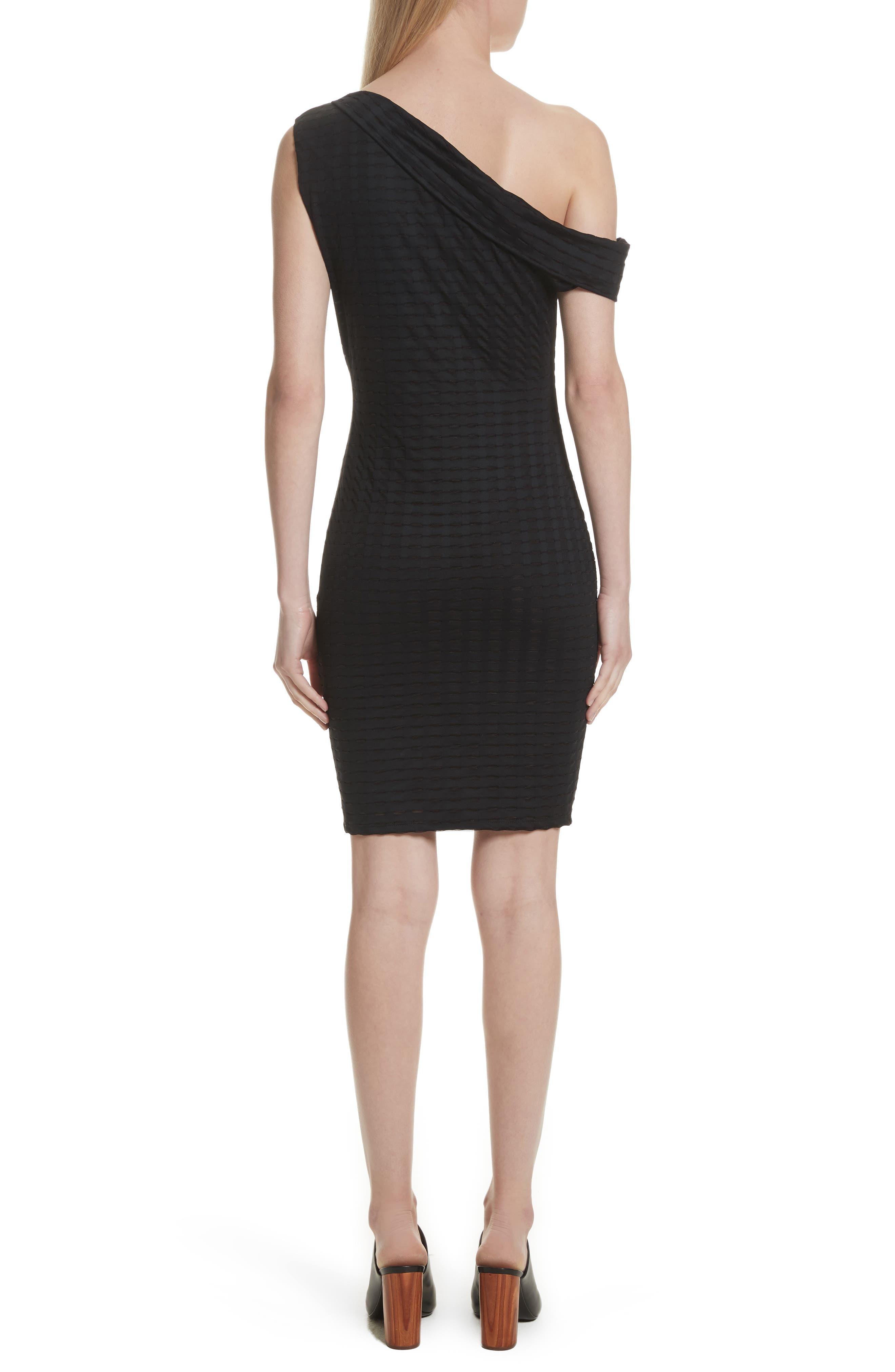 Alternate Image 2  - Twenty One-Shoulder Minidress
