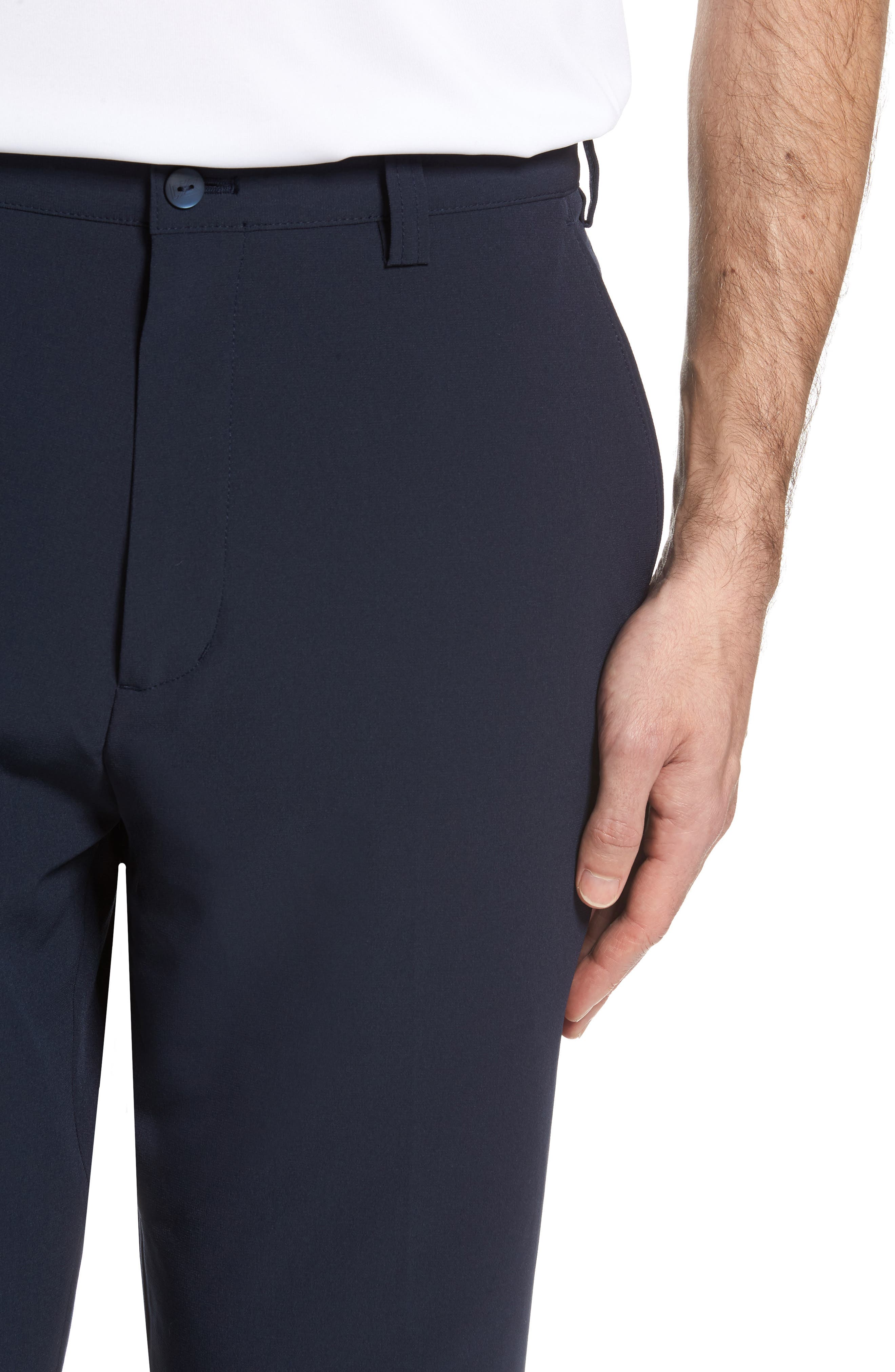 DryTec Chinos,                             Alternate thumbnail 4, color,                             Navy Blue