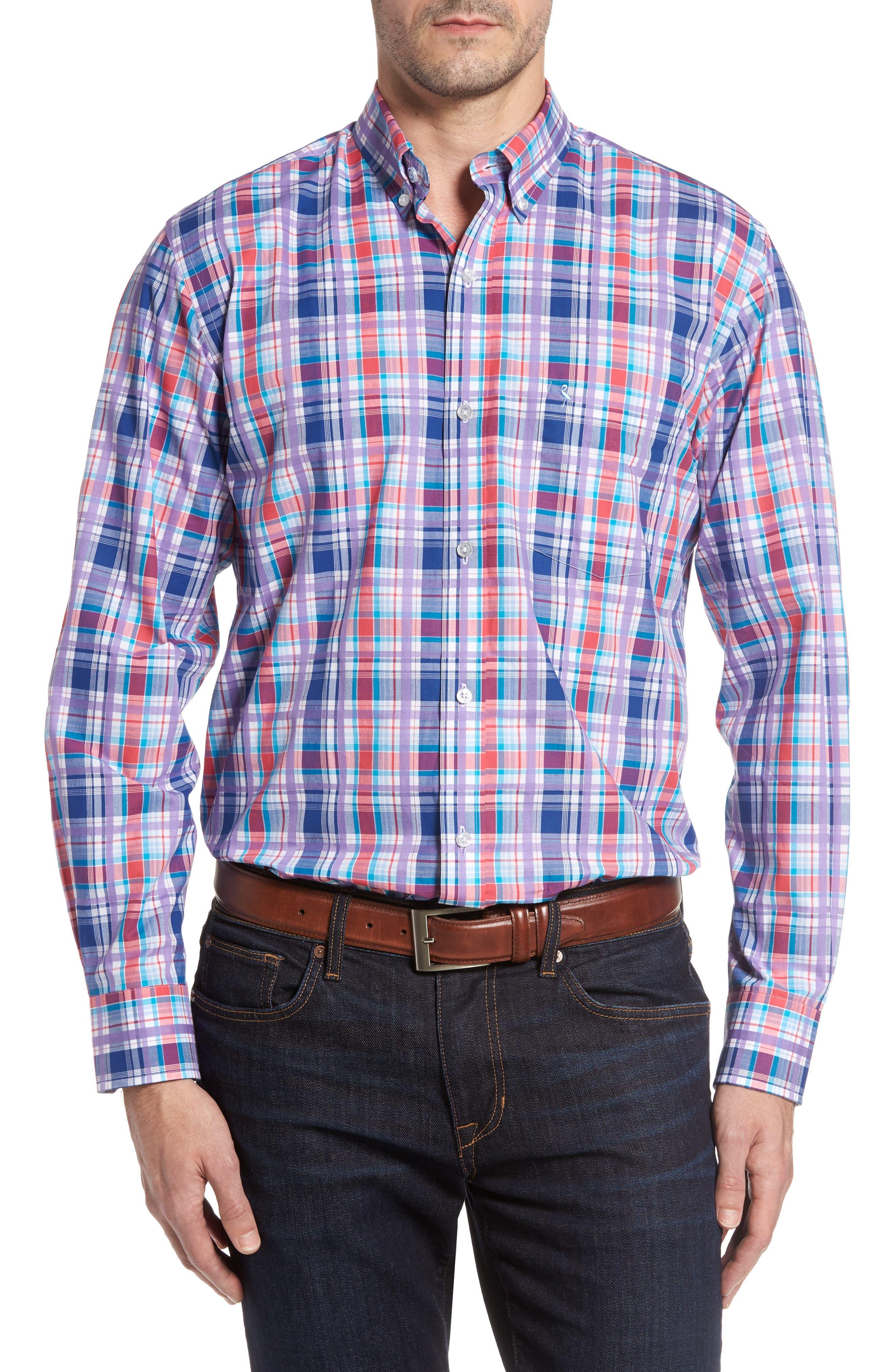 TAILORBYRD Alder Plaid Sport Shirt