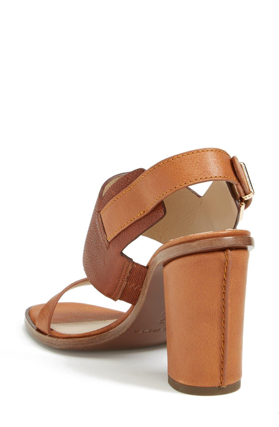 Alternate Image 2  - Via Spiga 'Baris' Leather Slingback Sandal (Women) (Nordstrom Exclusive)