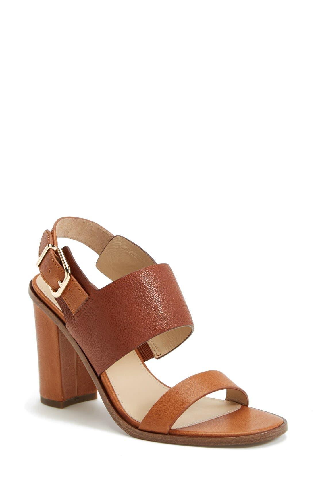Alternate Image 1 Selected - Via Spiga 'Baris' Leather Slingback Sandal (Women) (Nordstrom Exclusive)