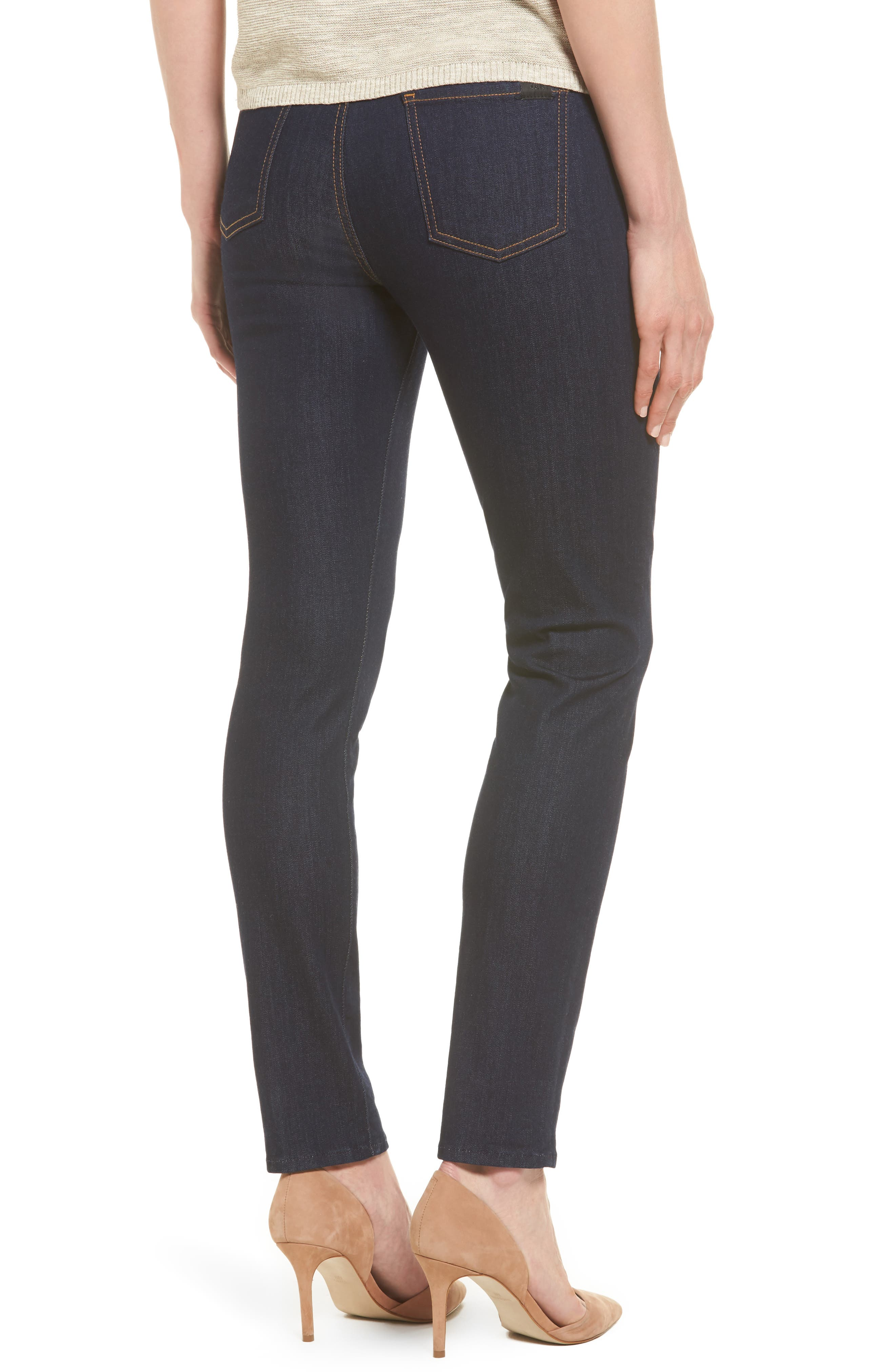 Alternate Image 2  - Jen7 Comfort Stretch Denim Skinny Jeans (Riche Touch Rinsed Night)