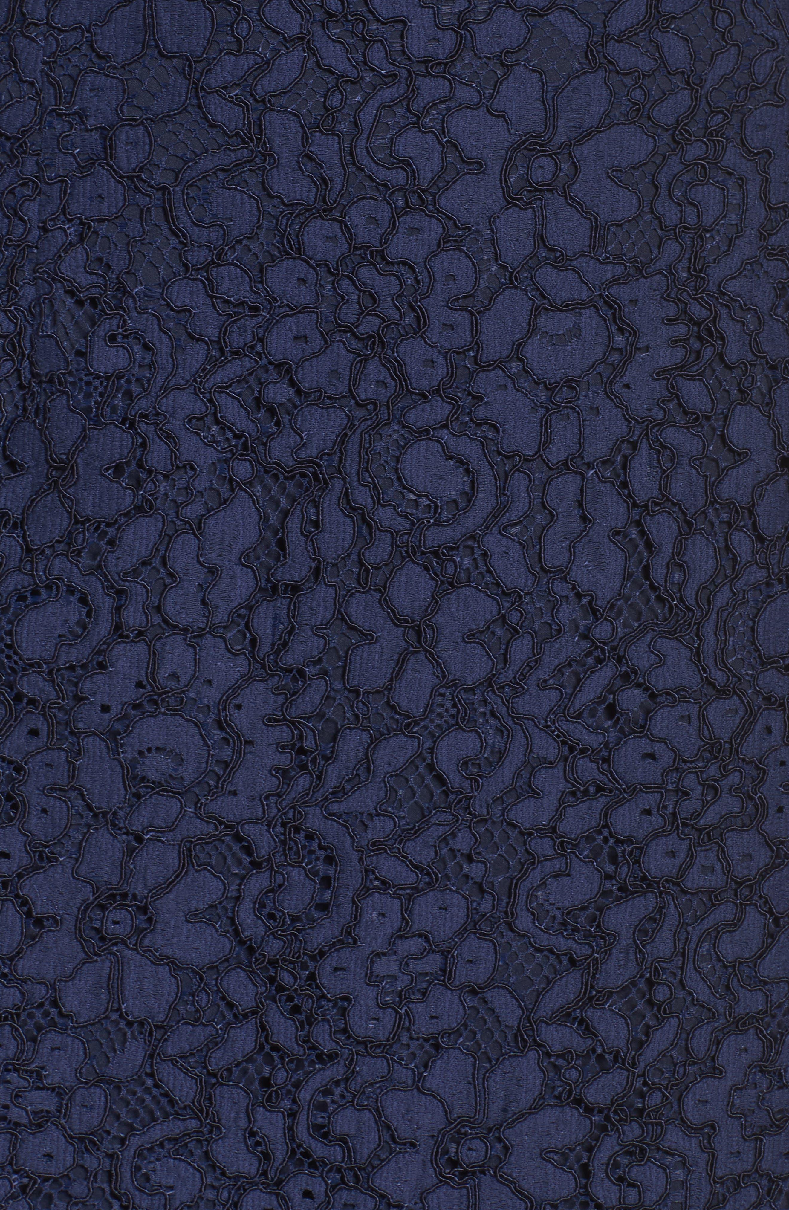 Alternate Image 5  - Shoshanna Vanowen Lace Off the Shoulder Gown