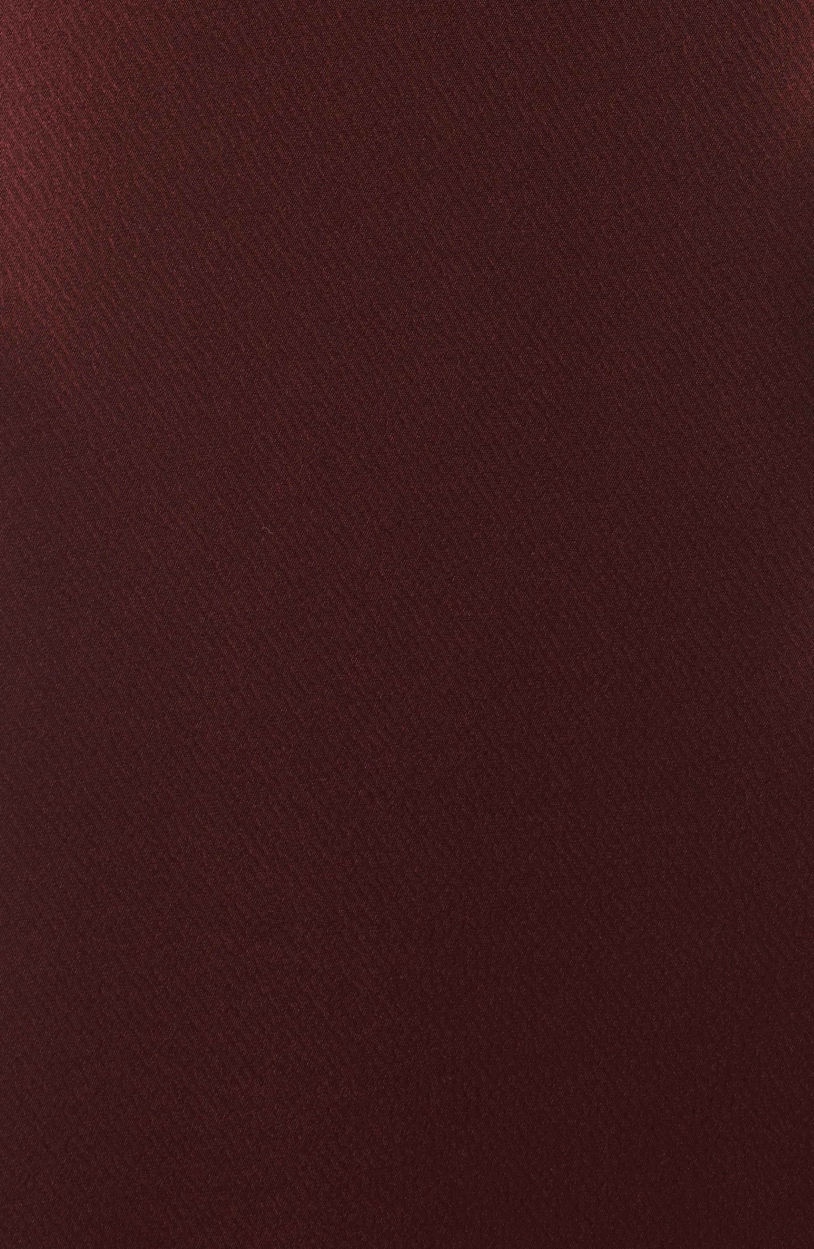 Alternate Image 5  - Jill Jill Stuart Faux Wrap Satin Gown