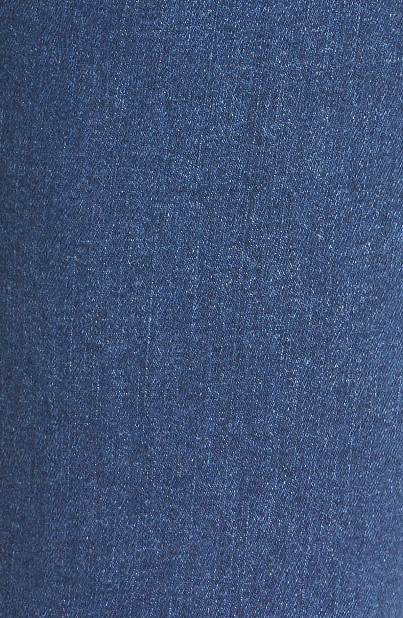 Verdugo Ankle Ultra Skinny Jeans,                             Alternate thumbnail 6, color,                             Bali
