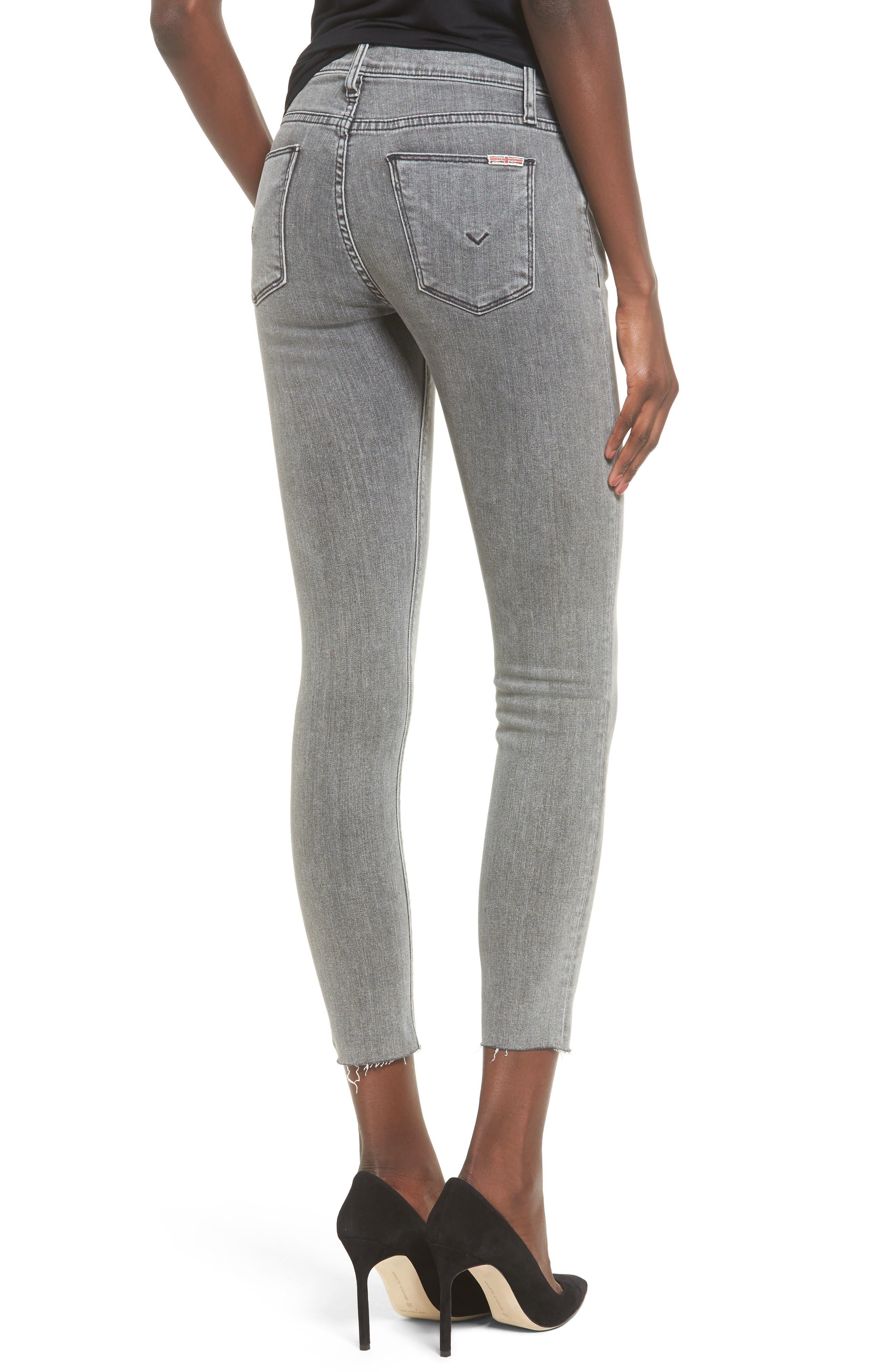 Hudson Nico Ankle Super Skinny Jeans,                             Alternate thumbnail 2, color,                             Glossier
